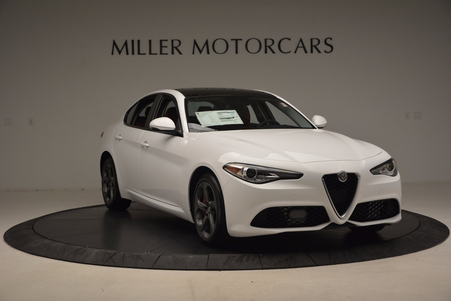New 2017 Alfa Romeo Giulia Q4 For Sale In Westport, CT 1242_p13
