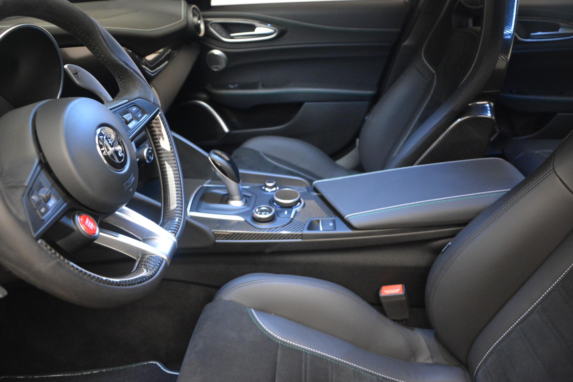 Used 2017 Alfa Romeo Giulia Quadrifoglio For Sale In Westport, CT 1245_p14