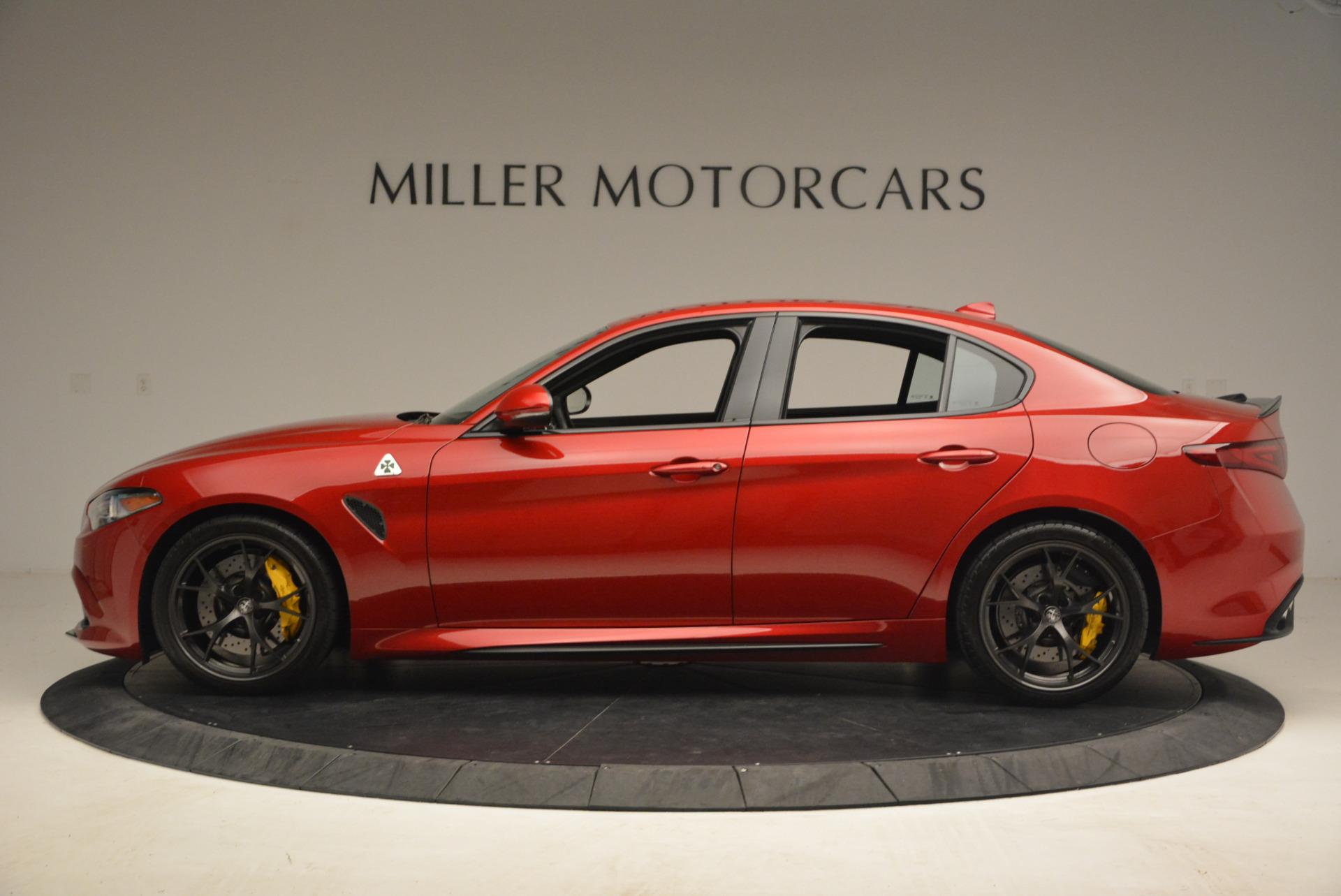 Used 2017 Alfa Romeo Giulia Quadrifoglio For Sale In Westport, CT 1245_p3