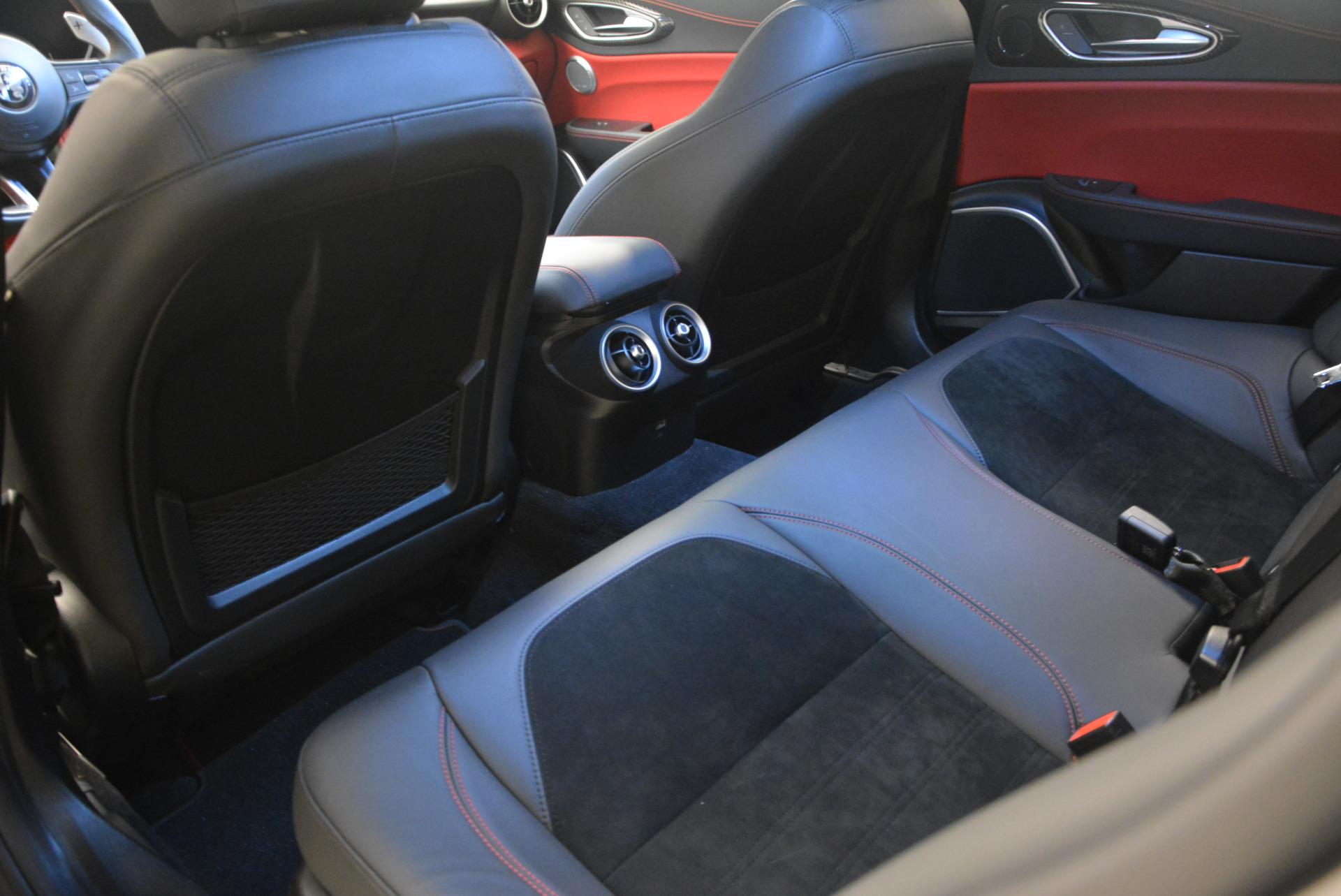 New 2017 Alfa Romeo Giulia Quadrifoglio For Sale In Westport, CT 1258_p19