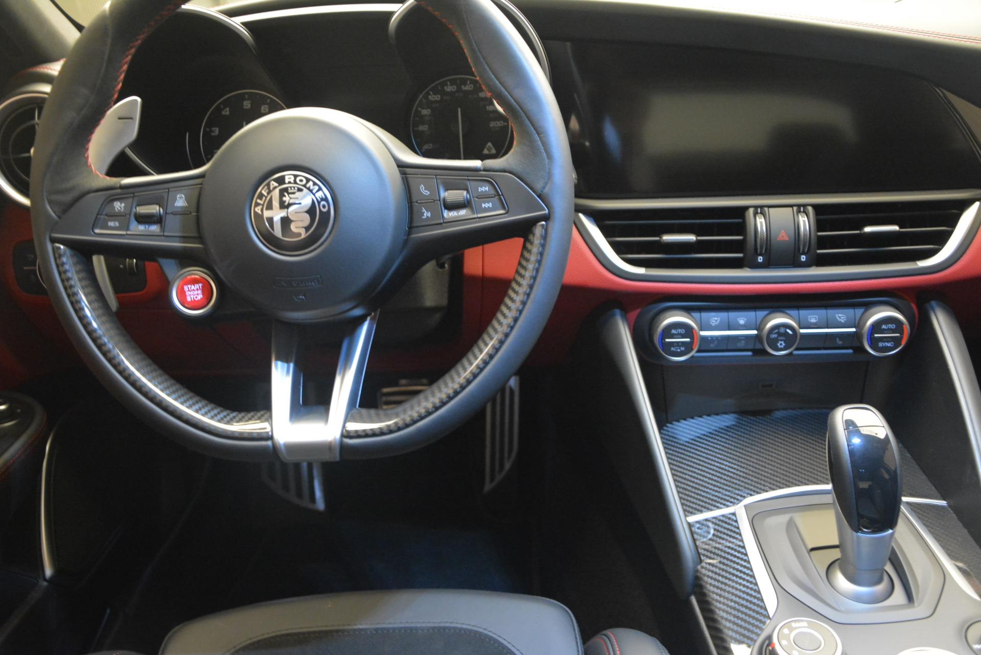 New 2017 Alfa Romeo Giulia Quadrifoglio For Sale In Westport, CT 1258_p21