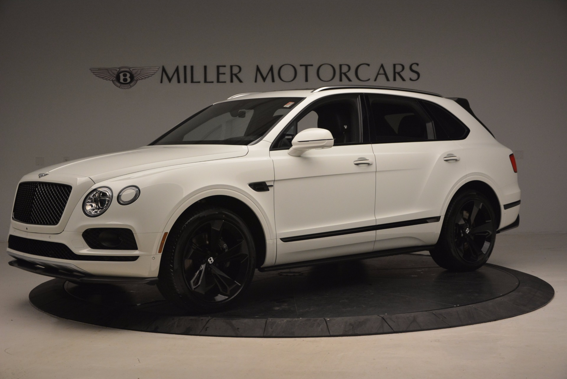 New 2018 Bentley Bentayga Black Edition For Sale In Westport, CT 1260_p2