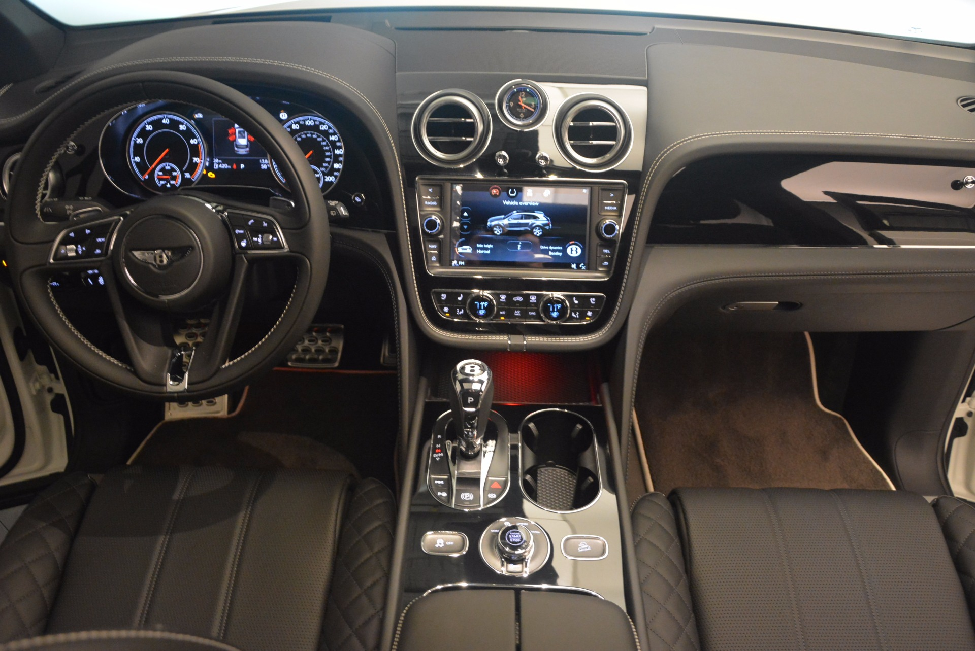 New 2018 Bentley Bentayga Black Edition For Sale In Westport, CT 1260_p50