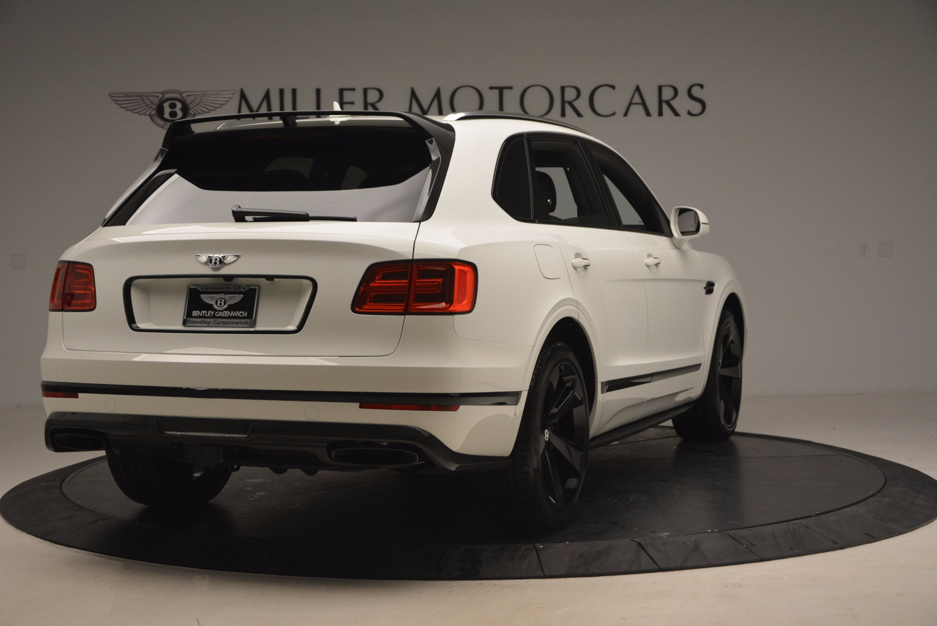 New 2018 Bentley Bentayga Black Edition For Sale In Westport, CT 1260_p7