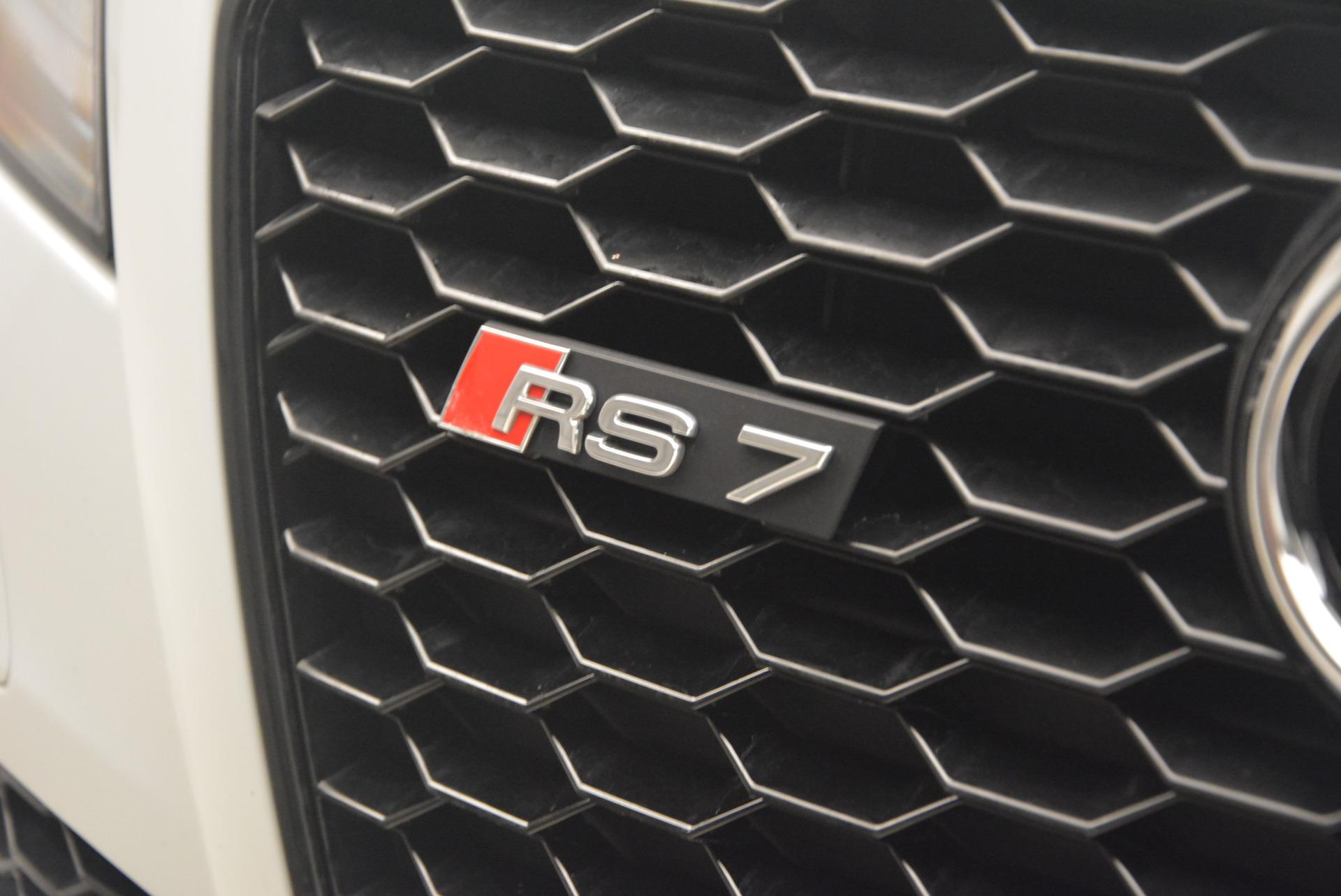 Used 2014 Audi RS 7 4.0T quattro Prestige For Sale In Westport, CT 1262_p17