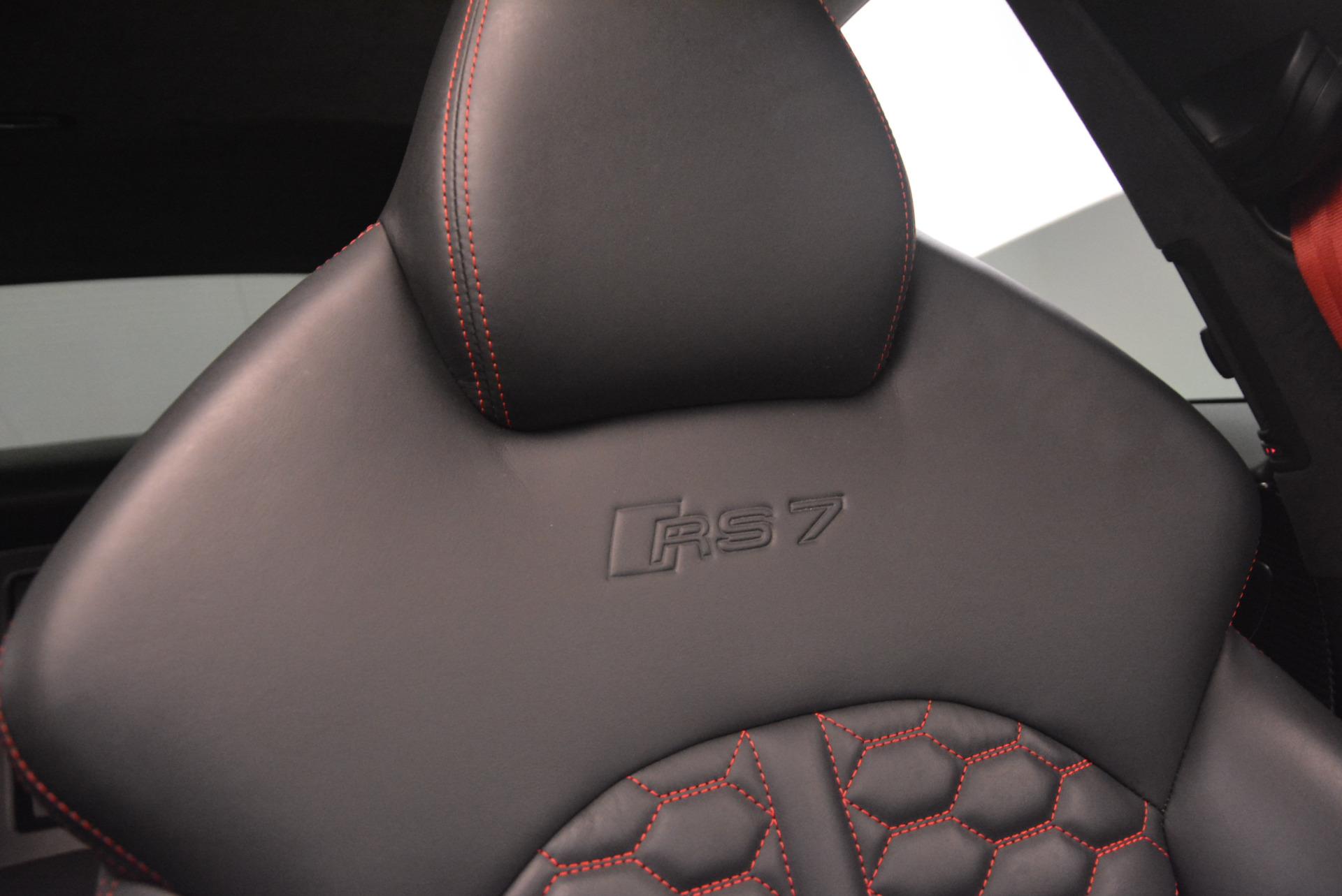 Used 2014 Audi RS 7 4.0T quattro Prestige For Sale In Westport, CT 1262_p25