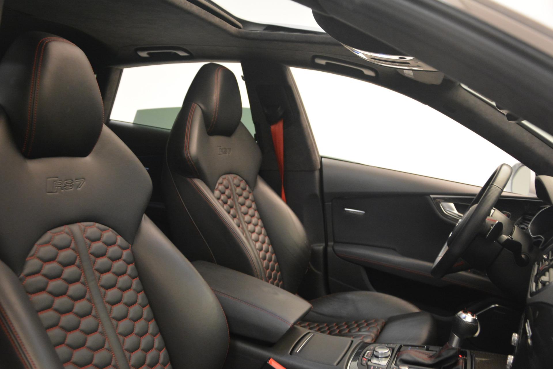 Used 2014 Audi RS 7 4.0T quattro Prestige For Sale In Westport, CT 1262_p43