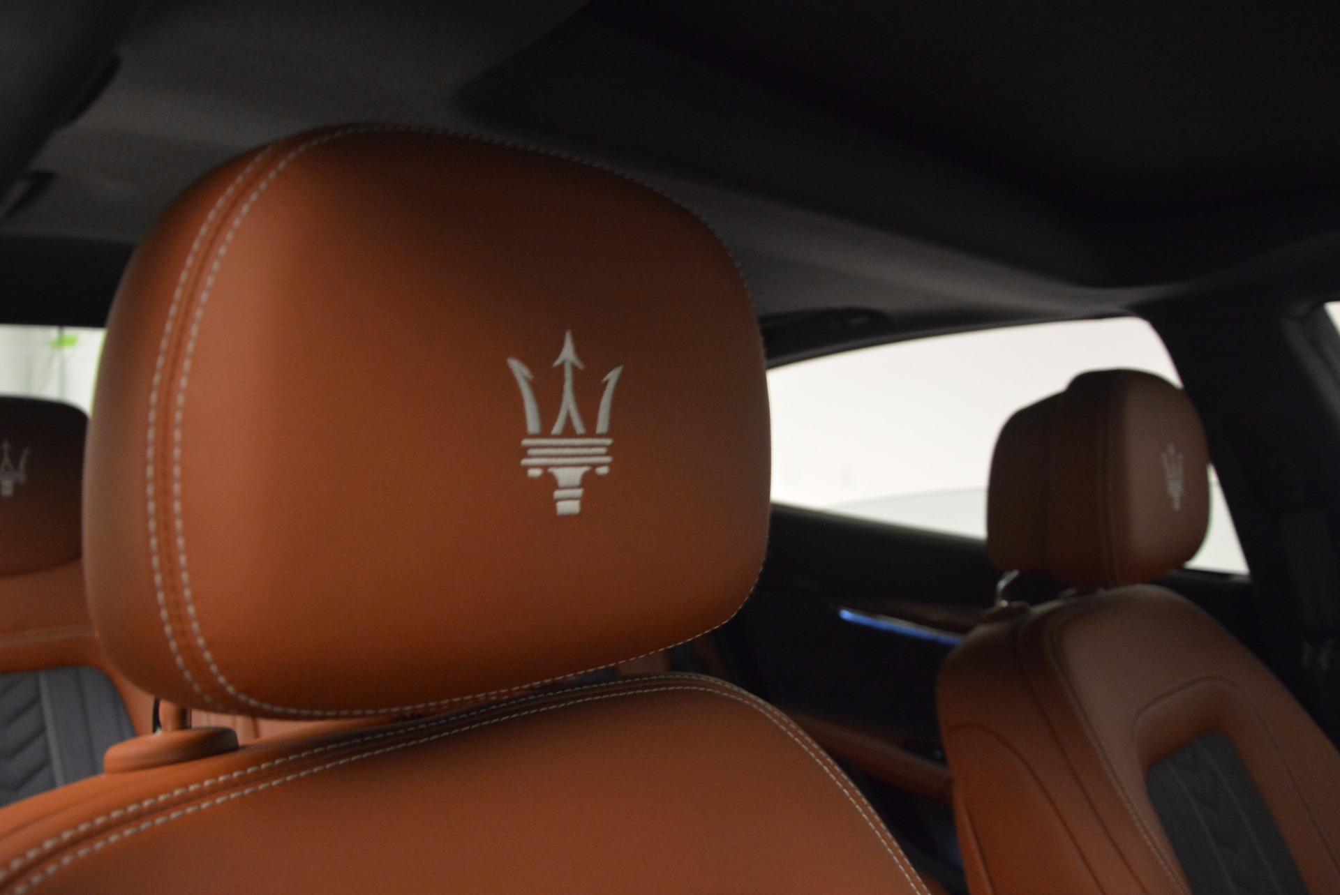 New 2017 Maserati Quattroporte S Q4 GranLusso For Sale In Westport, CT 1265_p19
