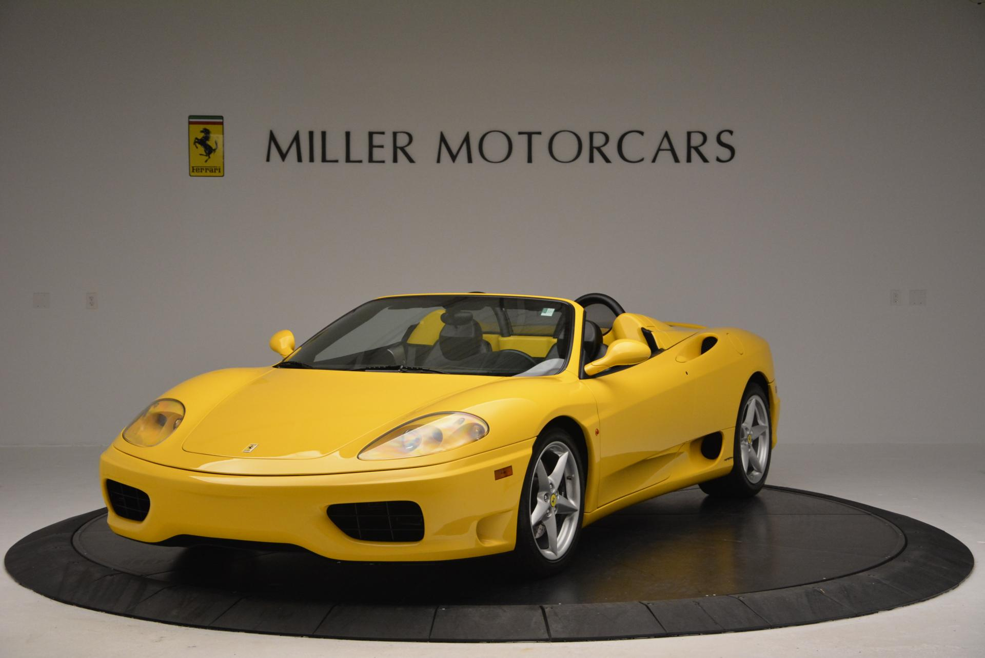 Used 2003 Ferrari 360 Spider 6-Speed Manual  For Sale In Westport, CT