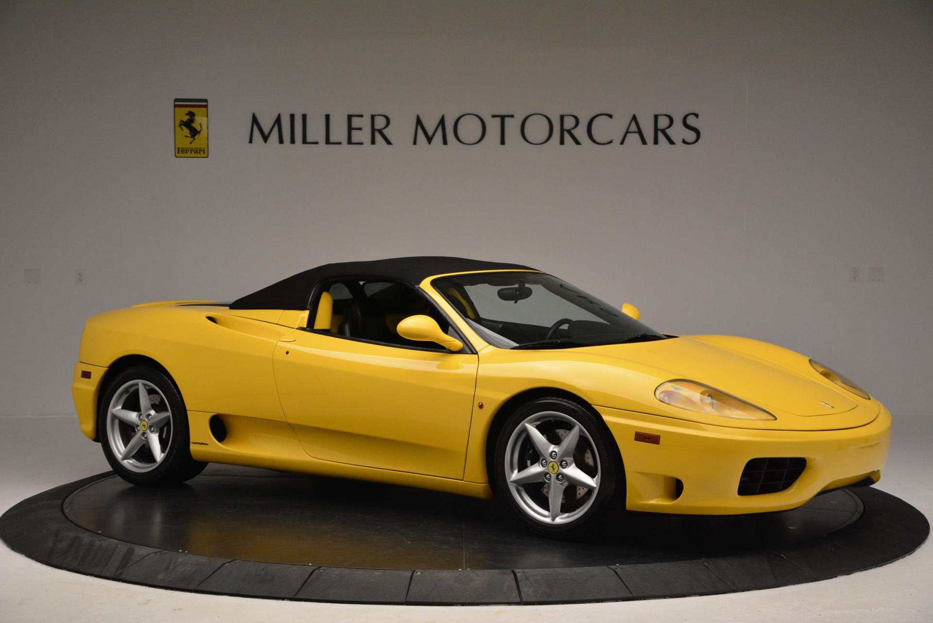 Used 2003 Ferrari 360 Spider 6-Speed Manual  For Sale In Westport, CT 127_p22