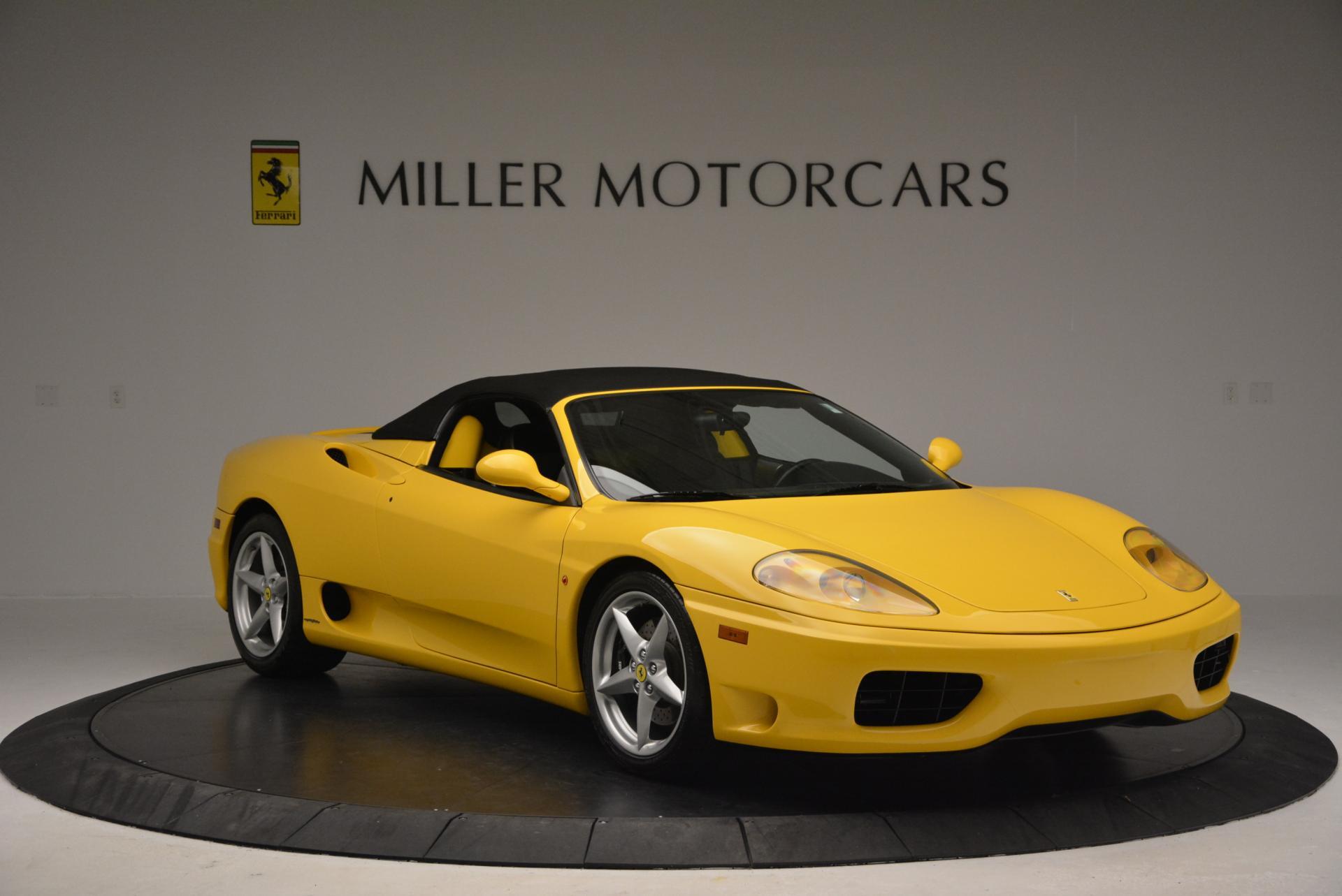 Used 2003 Ferrari 360 Spider 6-Speed Manual  For Sale In Westport, CT 127_p23