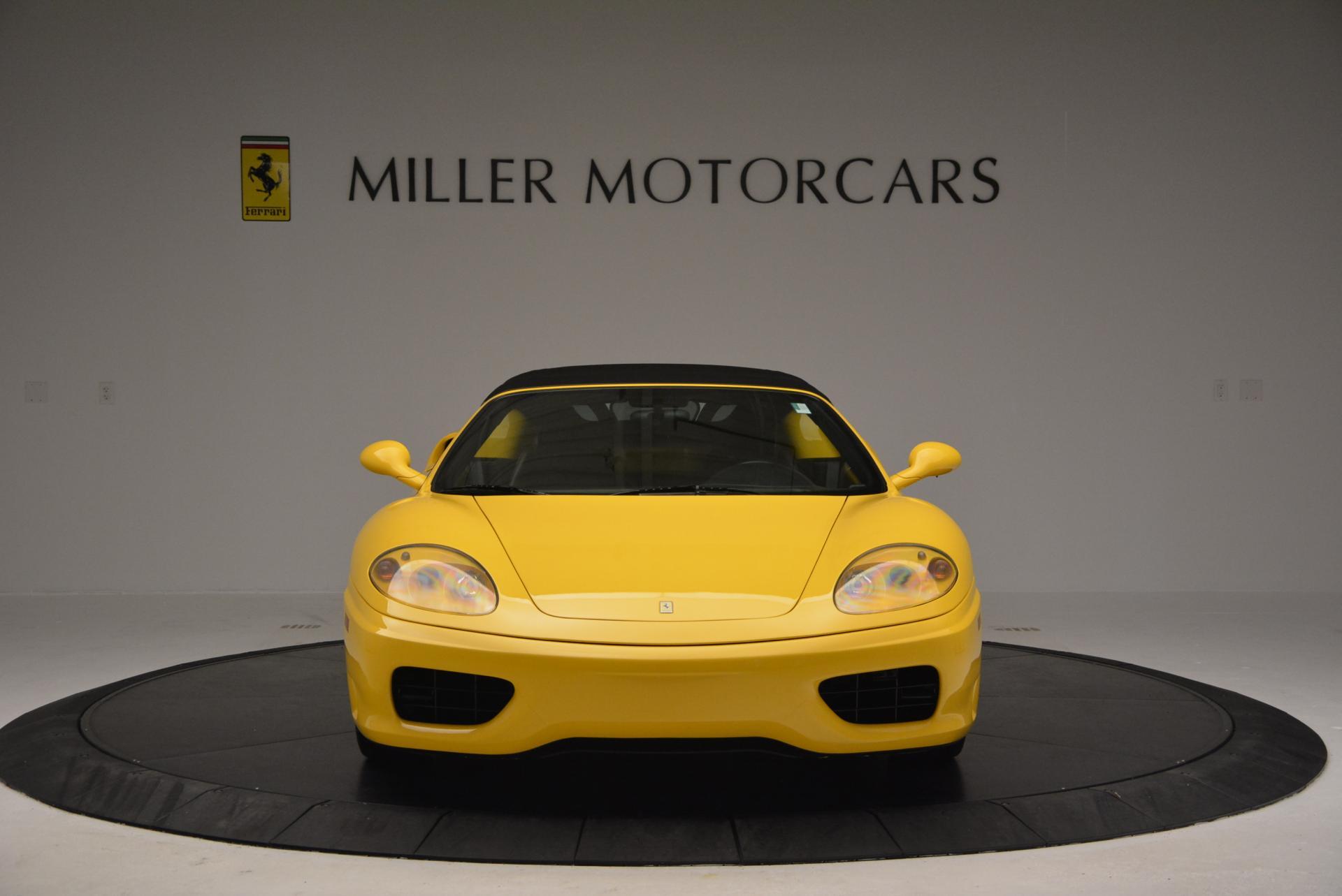 Used 2003 Ferrari 360 Spider 6-Speed Manual  For Sale In Westport, CT 127_p24