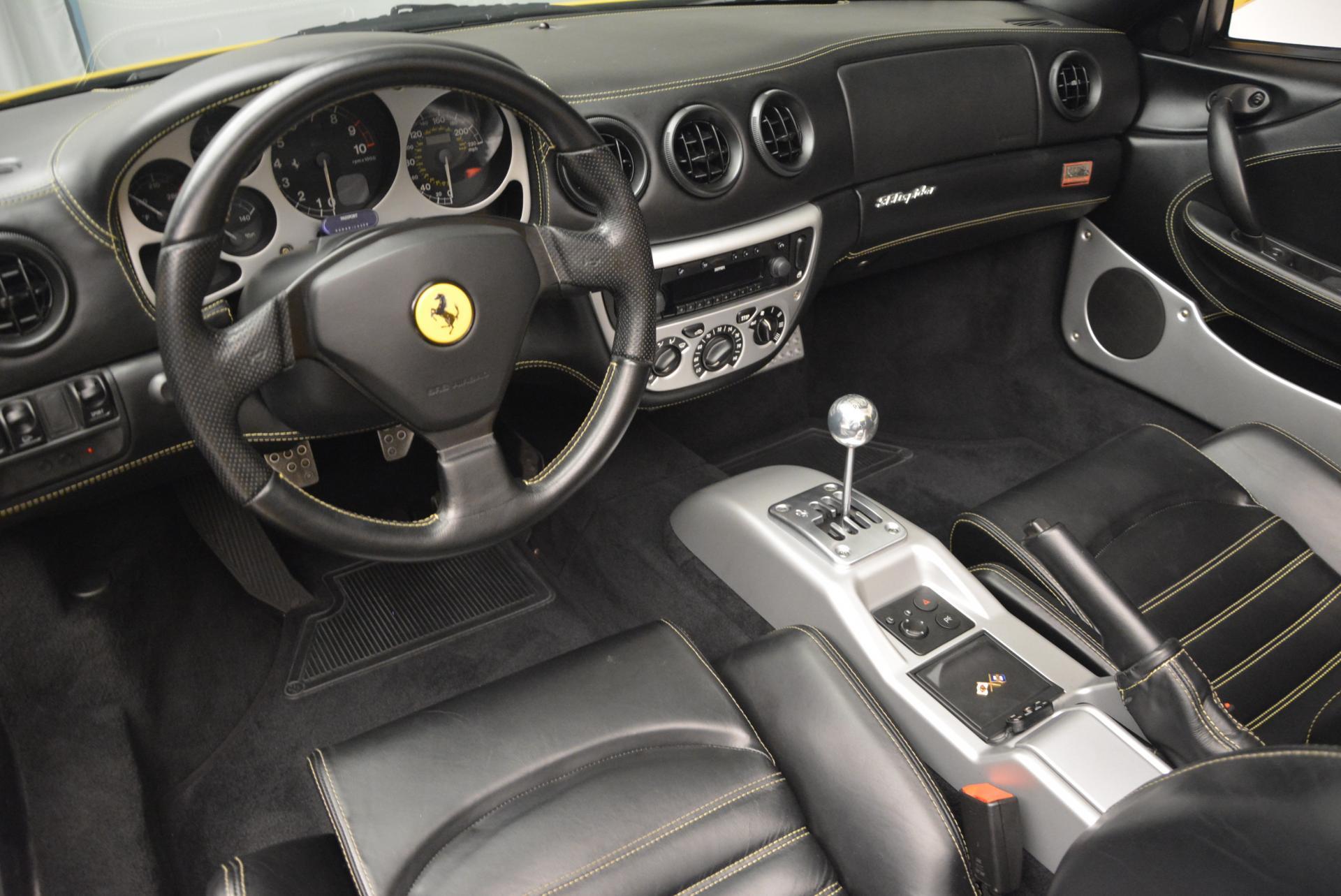 Used 2003 Ferrari 360 Spider 6-Speed Manual  For Sale In Westport, CT 127_p25