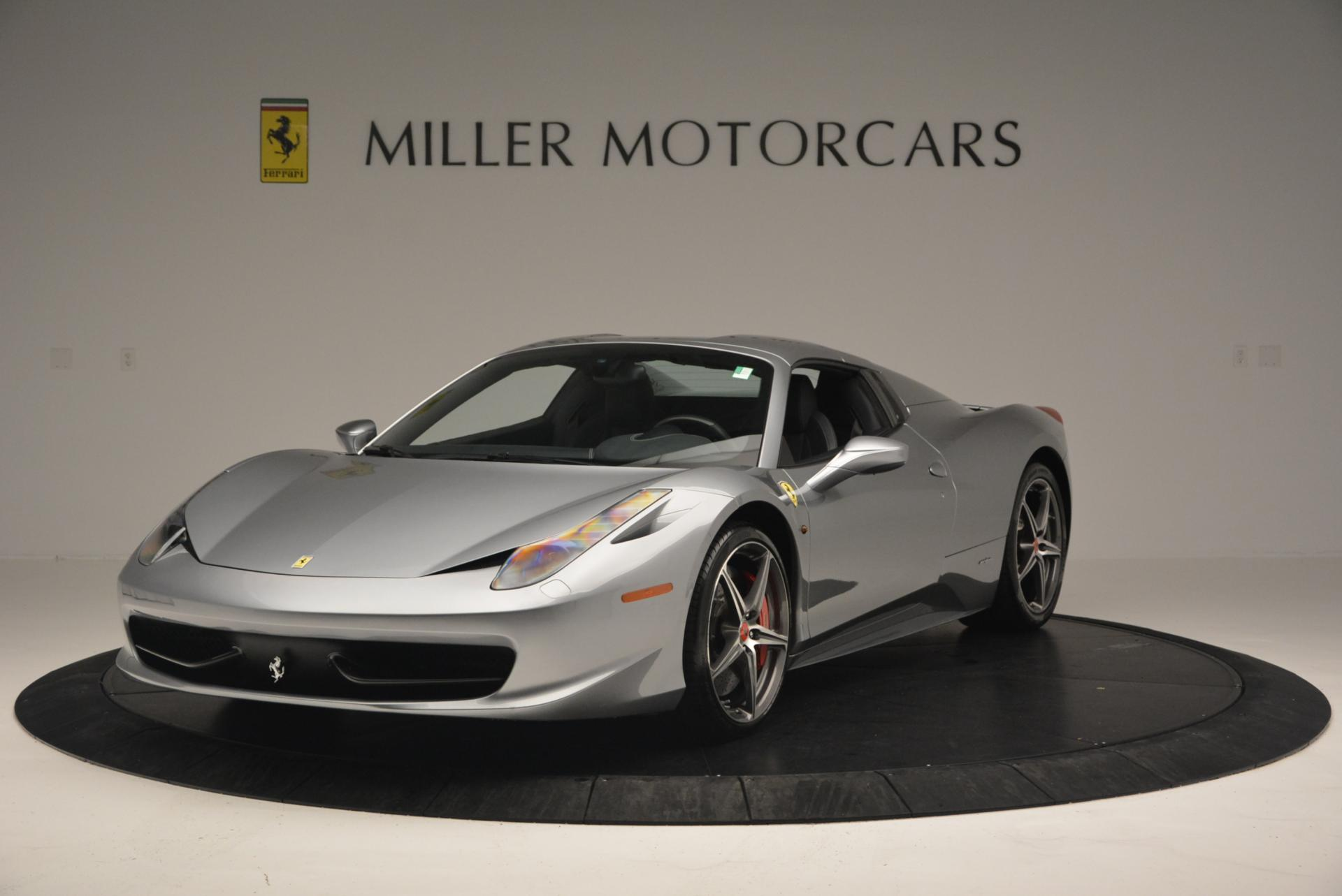 Used 2013 Ferrari 458 Spider  For Sale In Westport, CT 128_p13