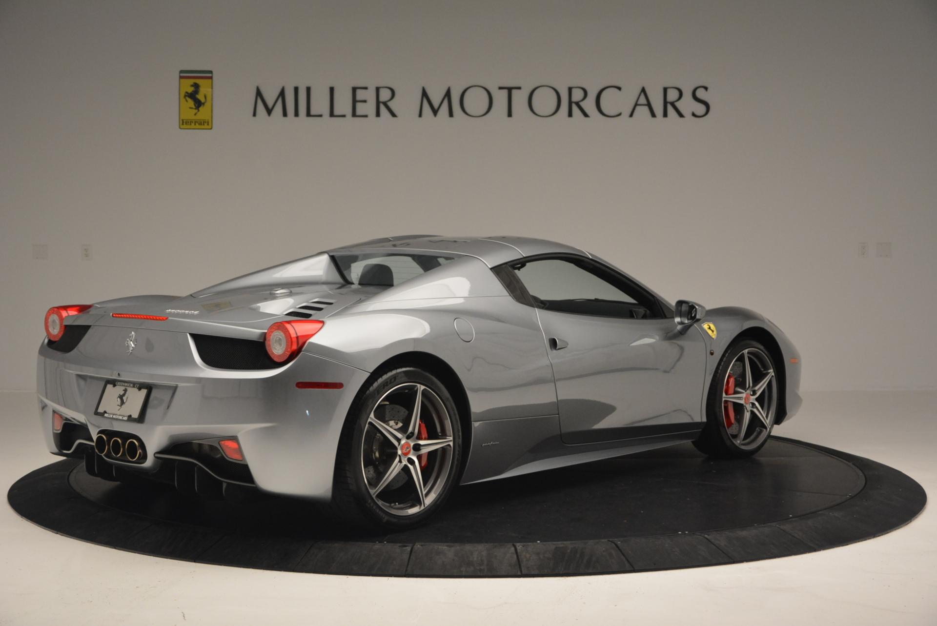 Used 2013 Ferrari 458 Spider  For Sale In Westport, CT 128_p20