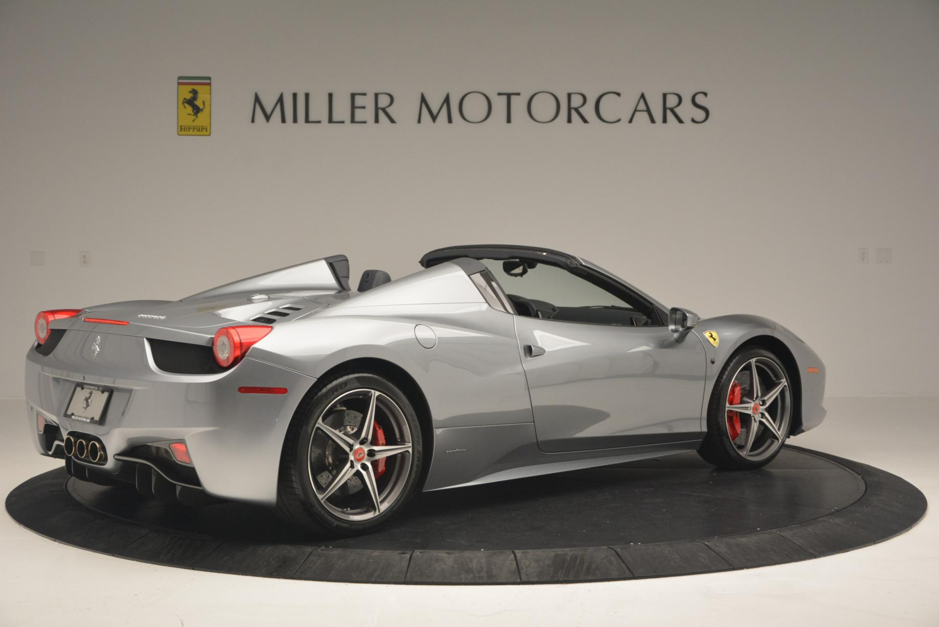 Used 2013 Ferrari 458 Spider  For Sale In Westport, CT 128_p8