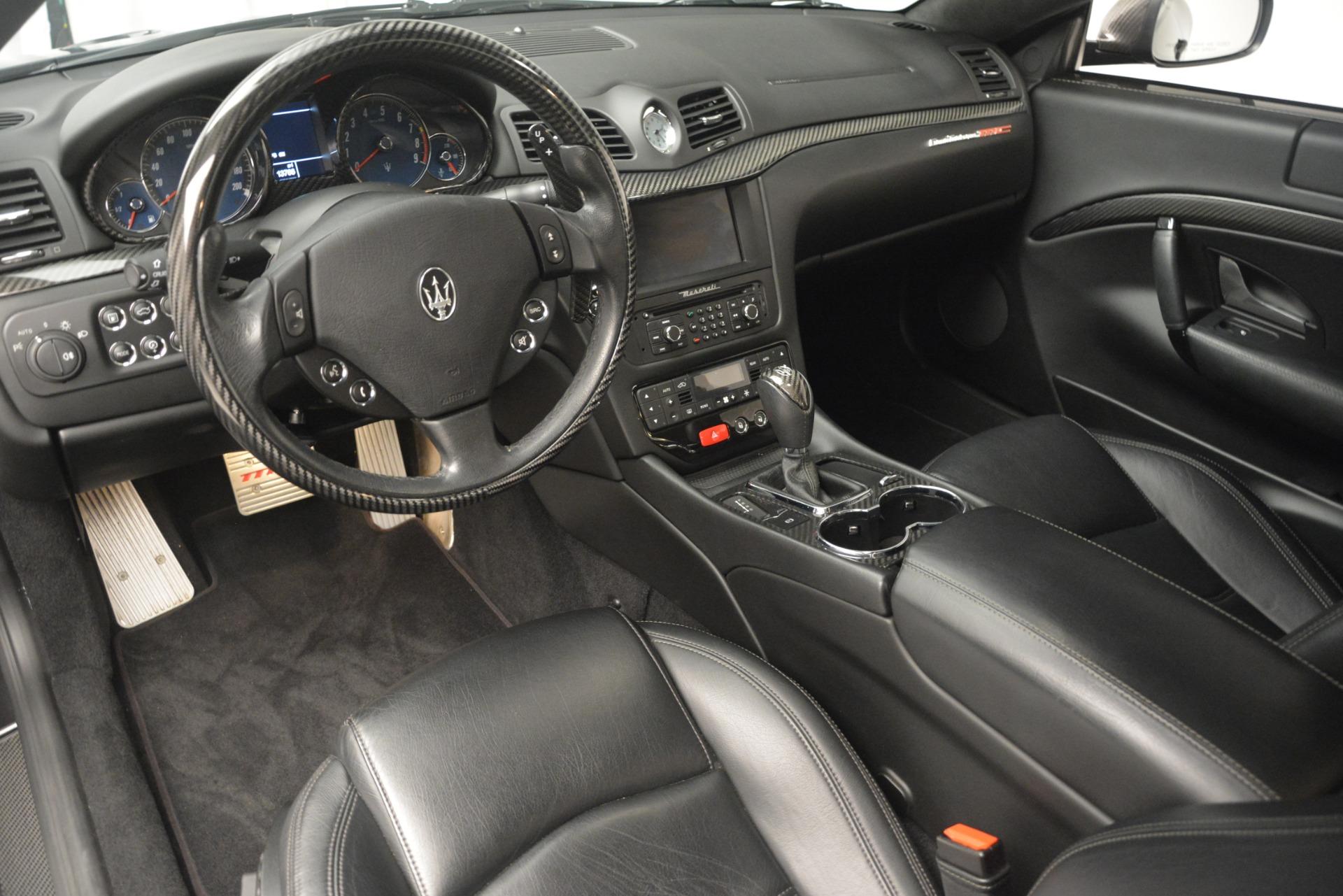 Used 2012 Maserati GranTurismo MC For Sale In Westport, CT 1284_p13