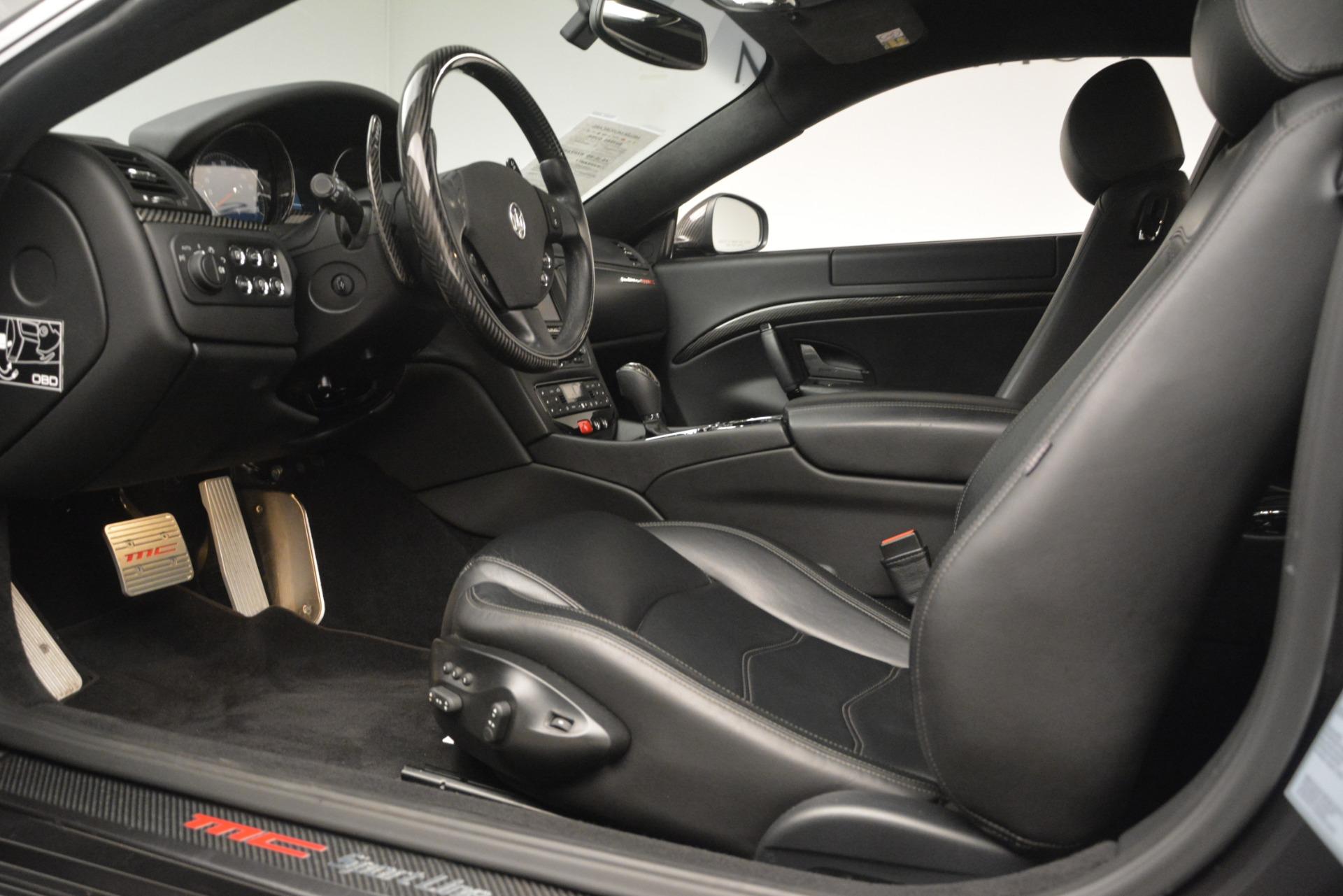 Used 2012 Maserati GranTurismo MC For Sale In Westport, CT 1284_p14