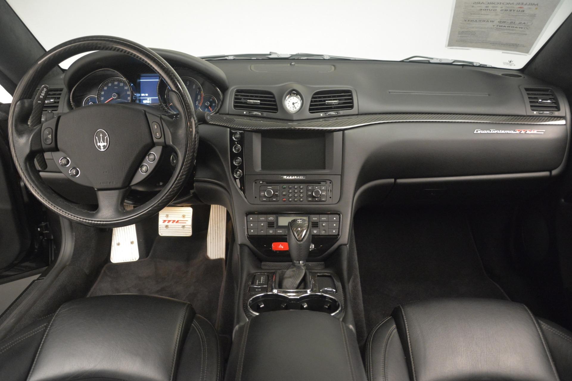 Used 2012 Maserati GranTurismo MC For Sale In Westport, CT 1284_p16
