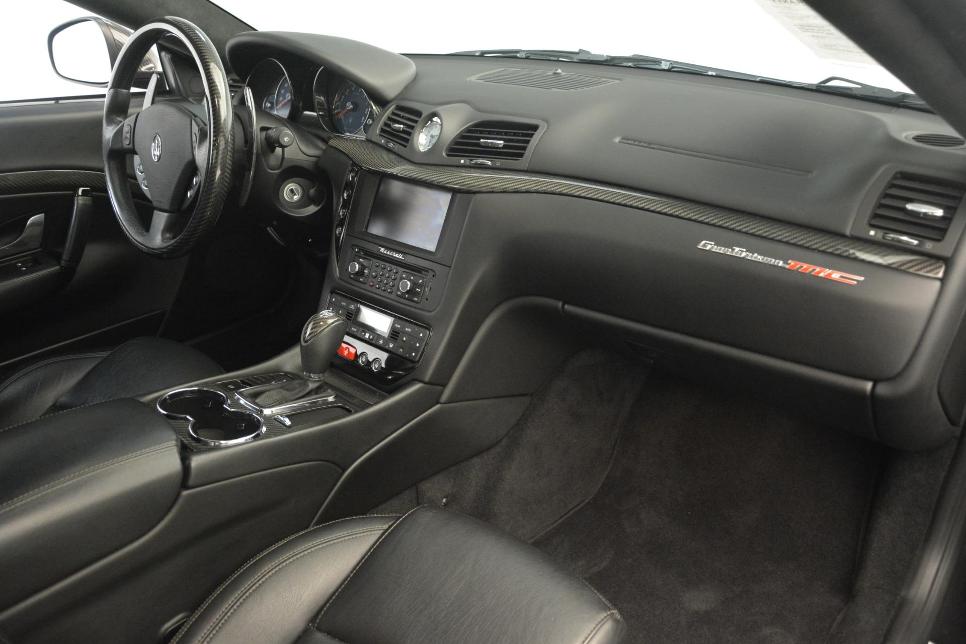 Used 2012 Maserati GranTurismo MC For Sale In Westport, CT 1284_p20