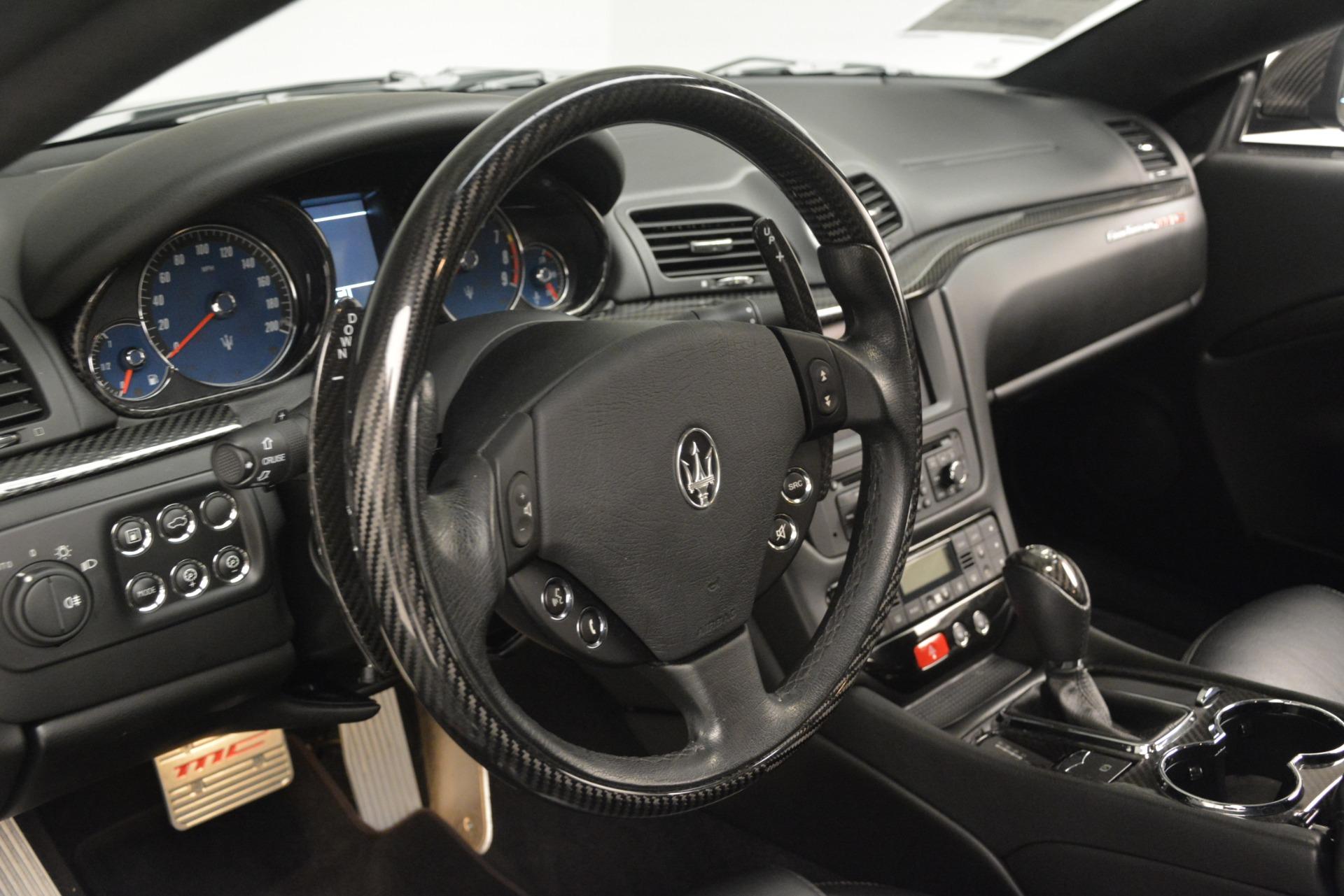 Used 2012 Maserati GranTurismo MC For Sale In Westport, CT 1284_p36