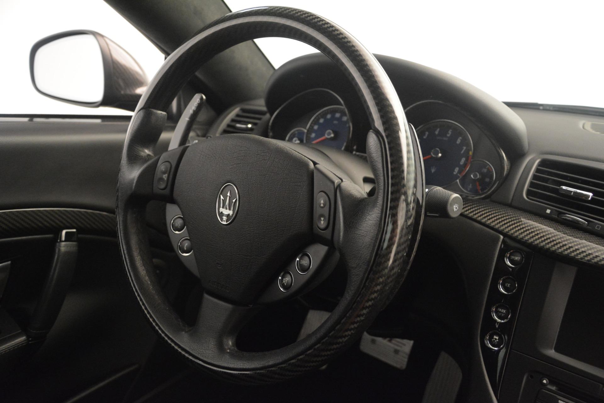 Used 2012 Maserati GranTurismo MC For Sale In Westport, CT 1284_p38