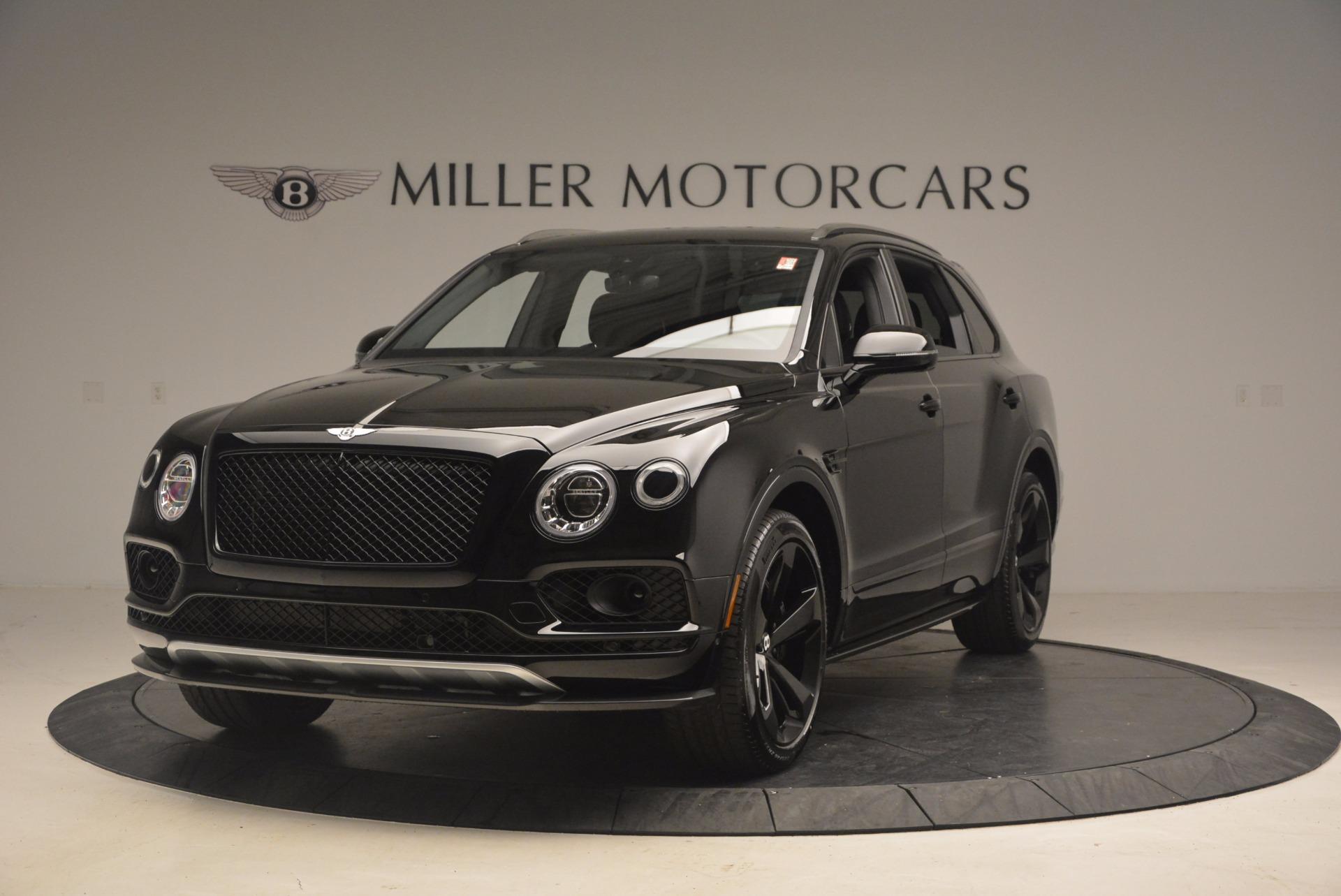 New 2018 Bentley Bentayga Black Edition For Sale In Westport, CT 1287_main