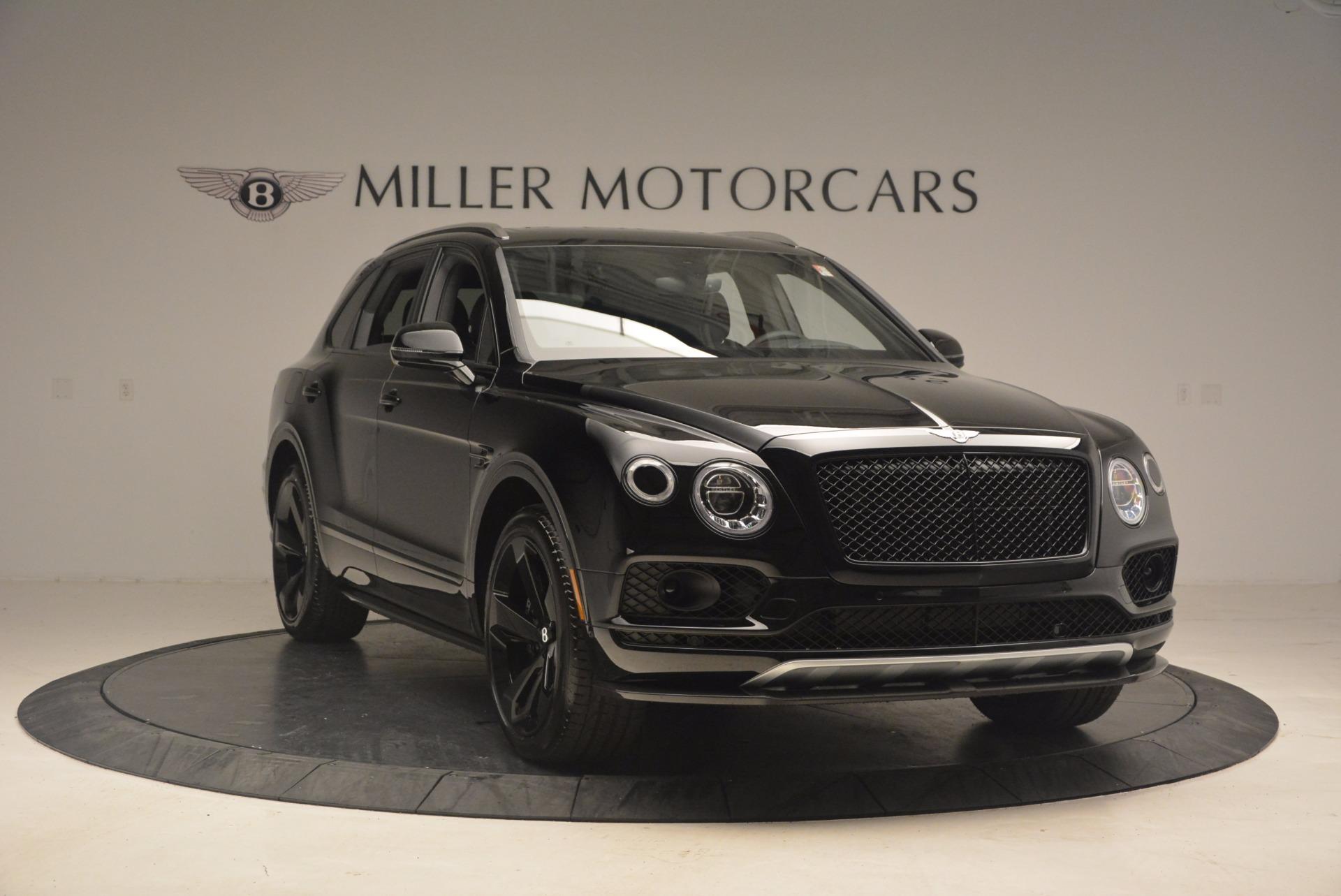 New 2018 Bentley Bentayga Black Edition For Sale In Westport, CT 1287_p11
