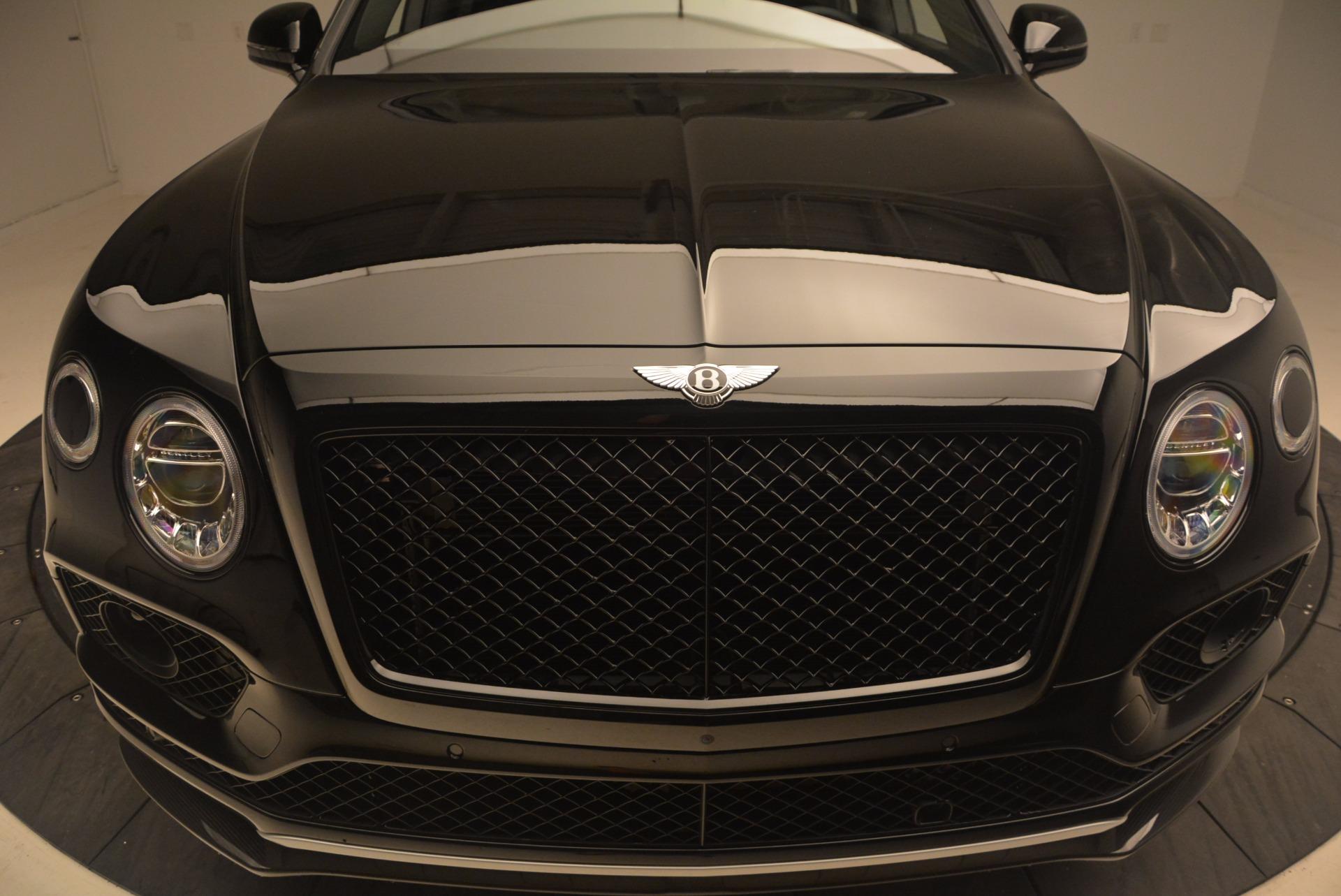 New 2018 Bentley Bentayga Black Edition For Sale In Westport, CT 1287_p14