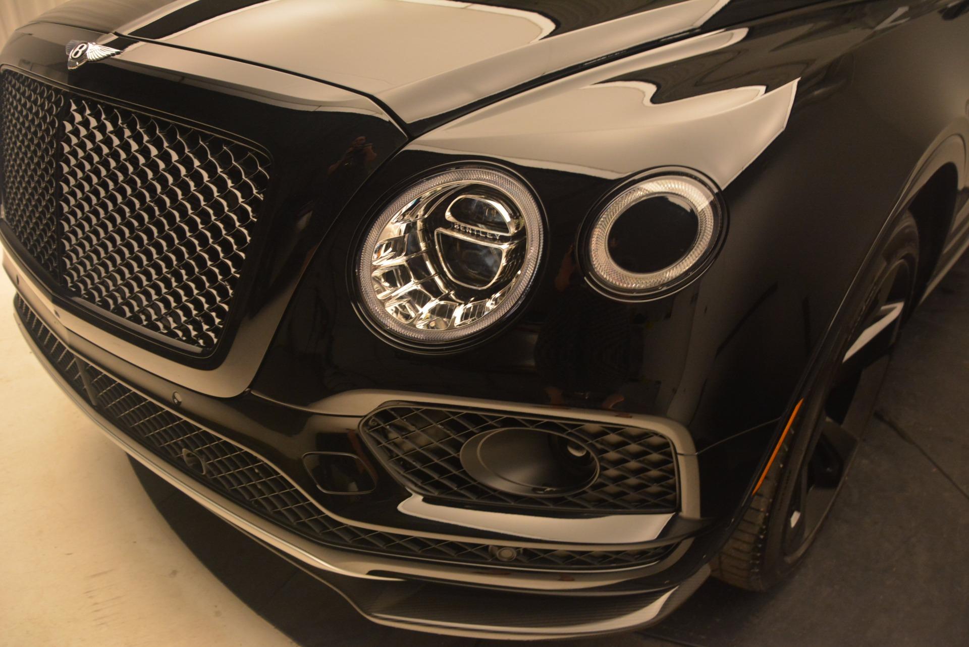 New 2018 Bentley Bentayga Black Edition For Sale In Westport, CT 1287_p16