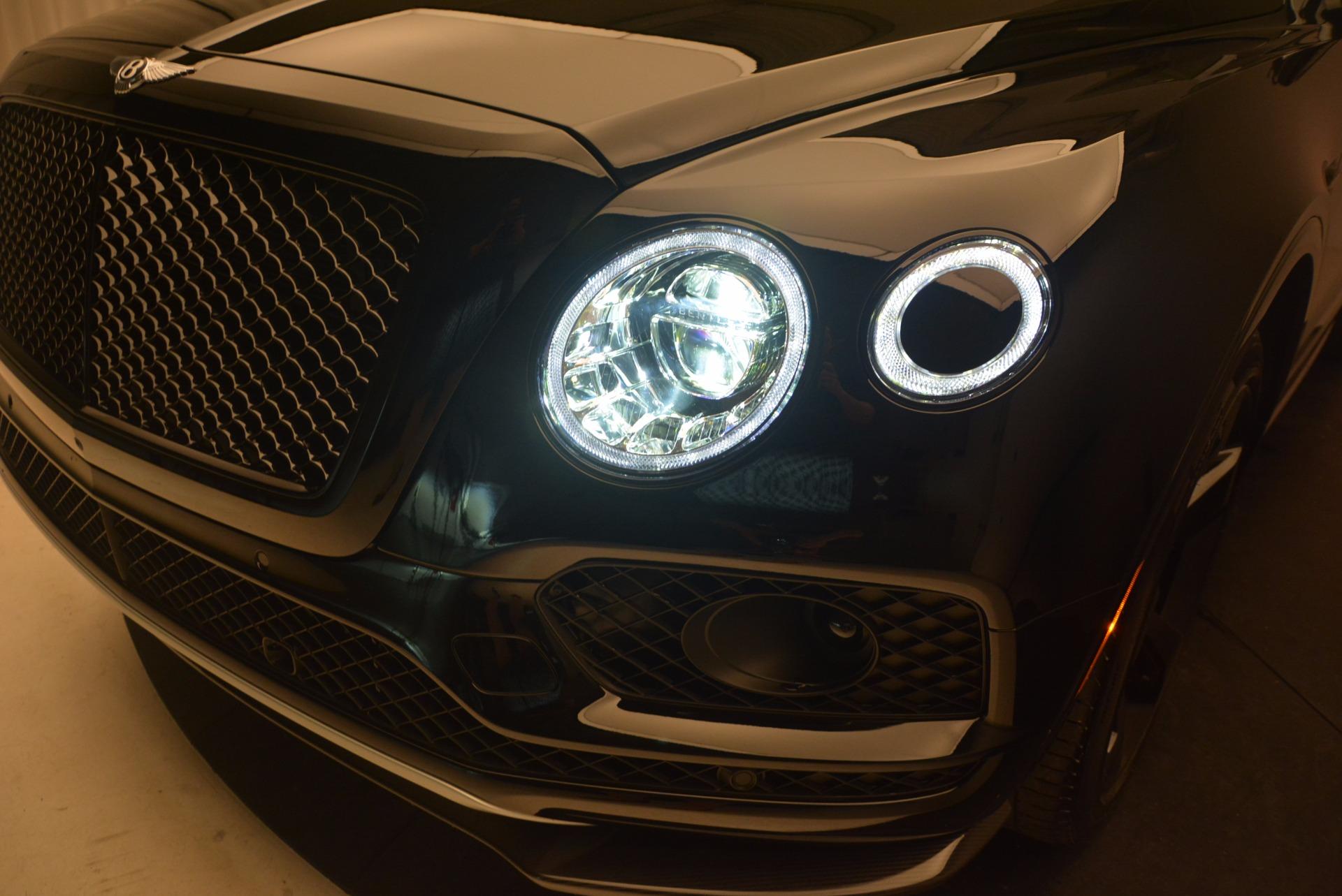 New 2018 Bentley Bentayga Black Edition For Sale In Westport, CT 1287_p17