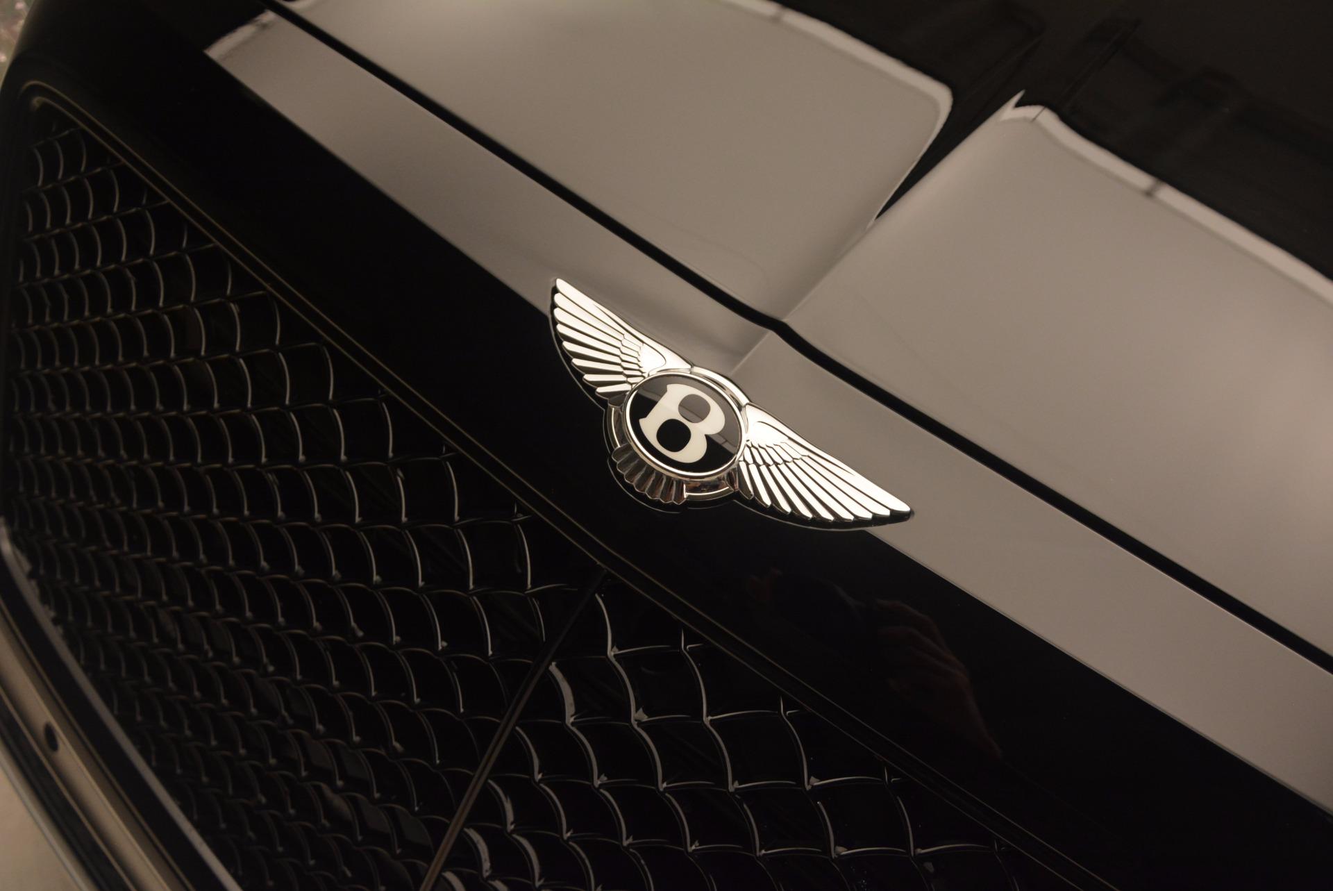 New 2018 Bentley Bentayga Black Edition For Sale In Westport, CT 1287_p18