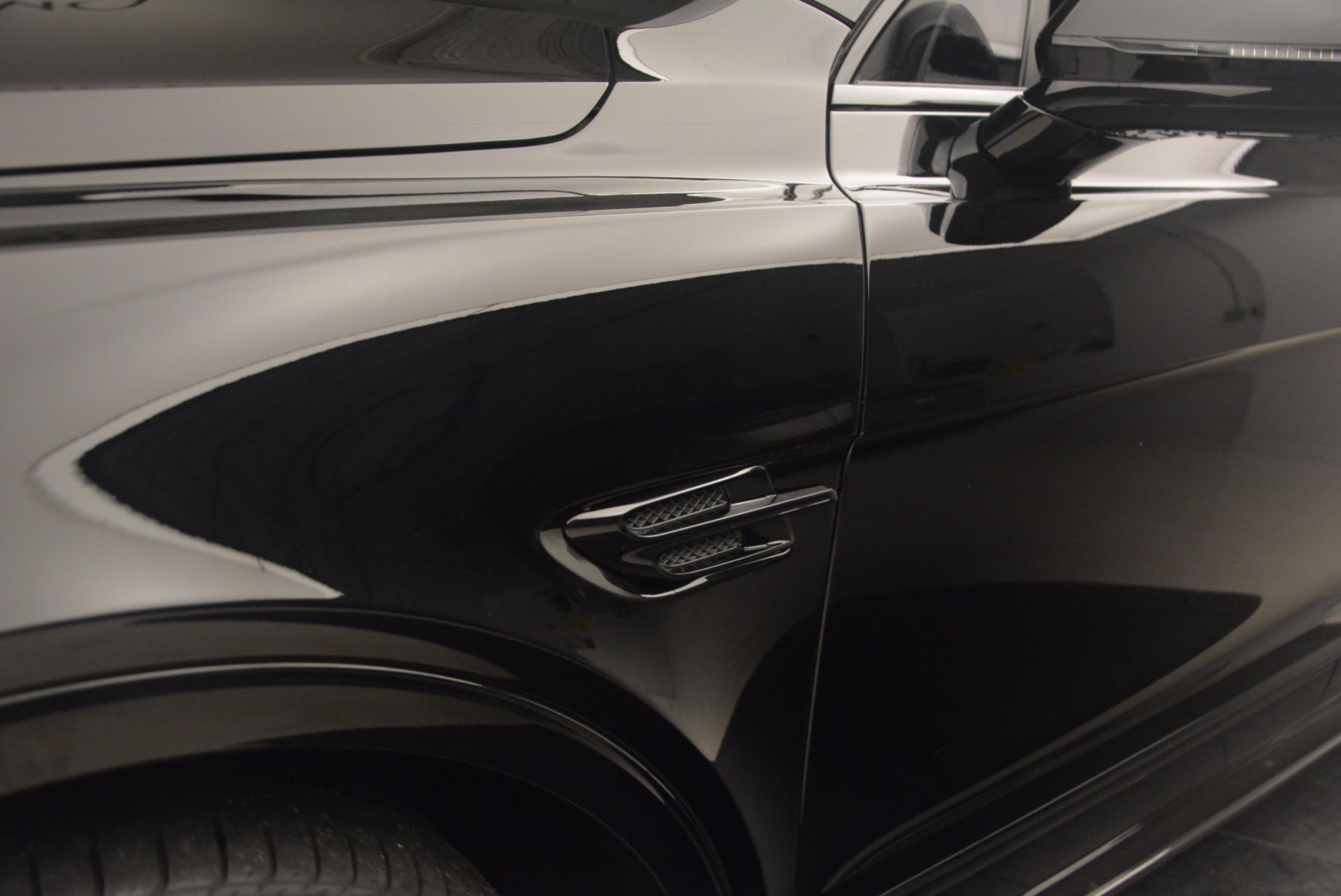 New 2018 Bentley Bentayga Black Edition For Sale In Westport, CT 1287_p23