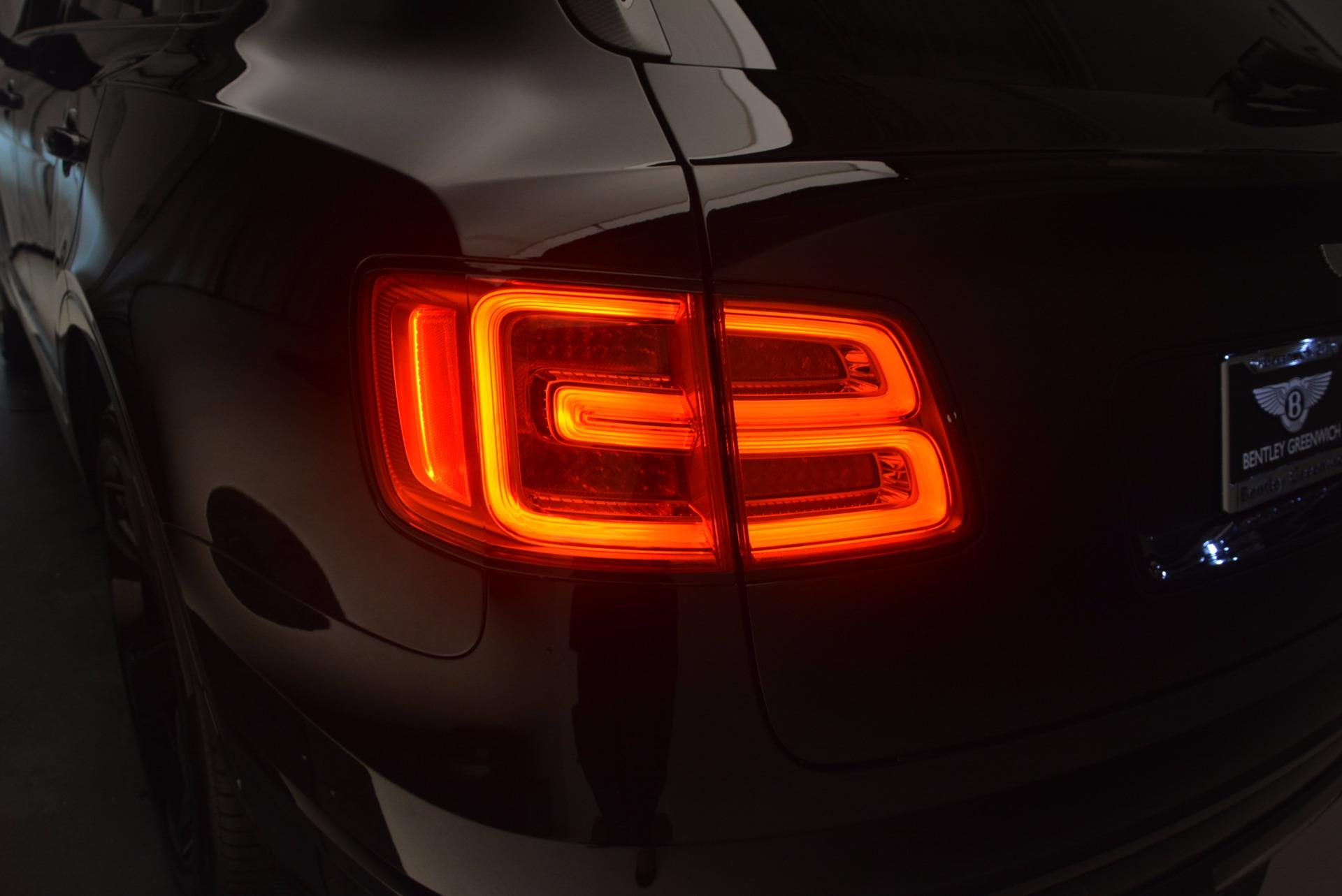 New 2018 Bentley Bentayga Black Edition For Sale In Westport, CT 1287_p25