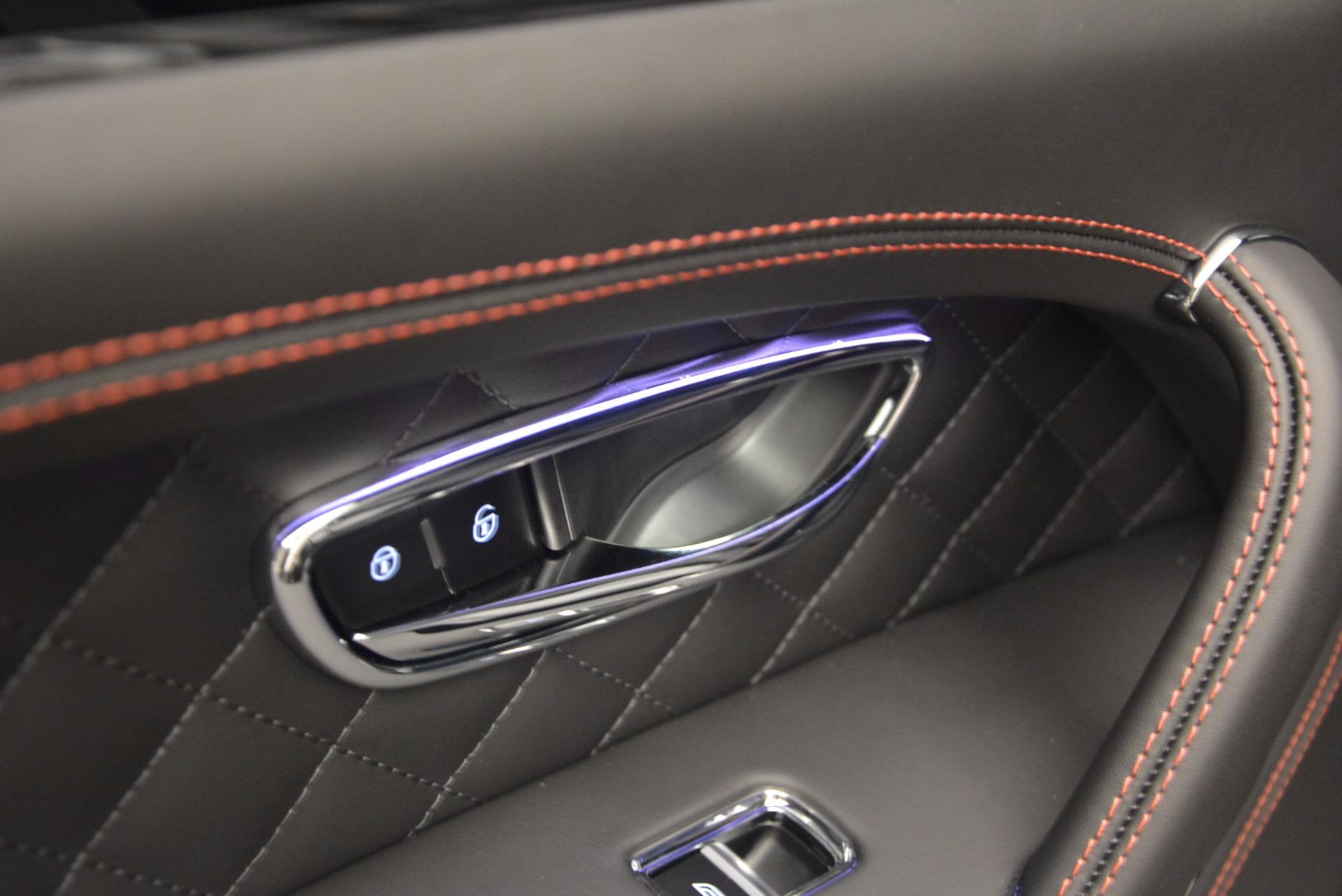 New 2018 Bentley Bentayga Black Edition For Sale In Westport, CT 1287_p30