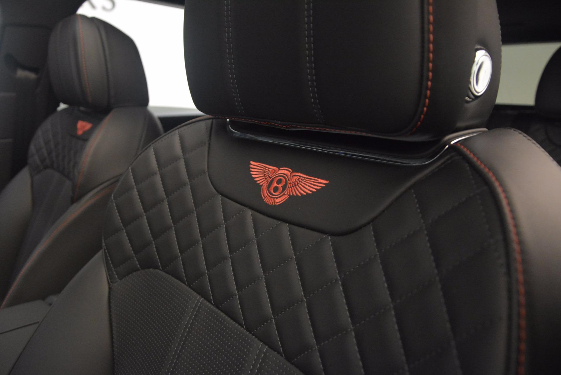 New 2018 Bentley Bentayga Black Edition For Sale In Westport, CT 1287_p35