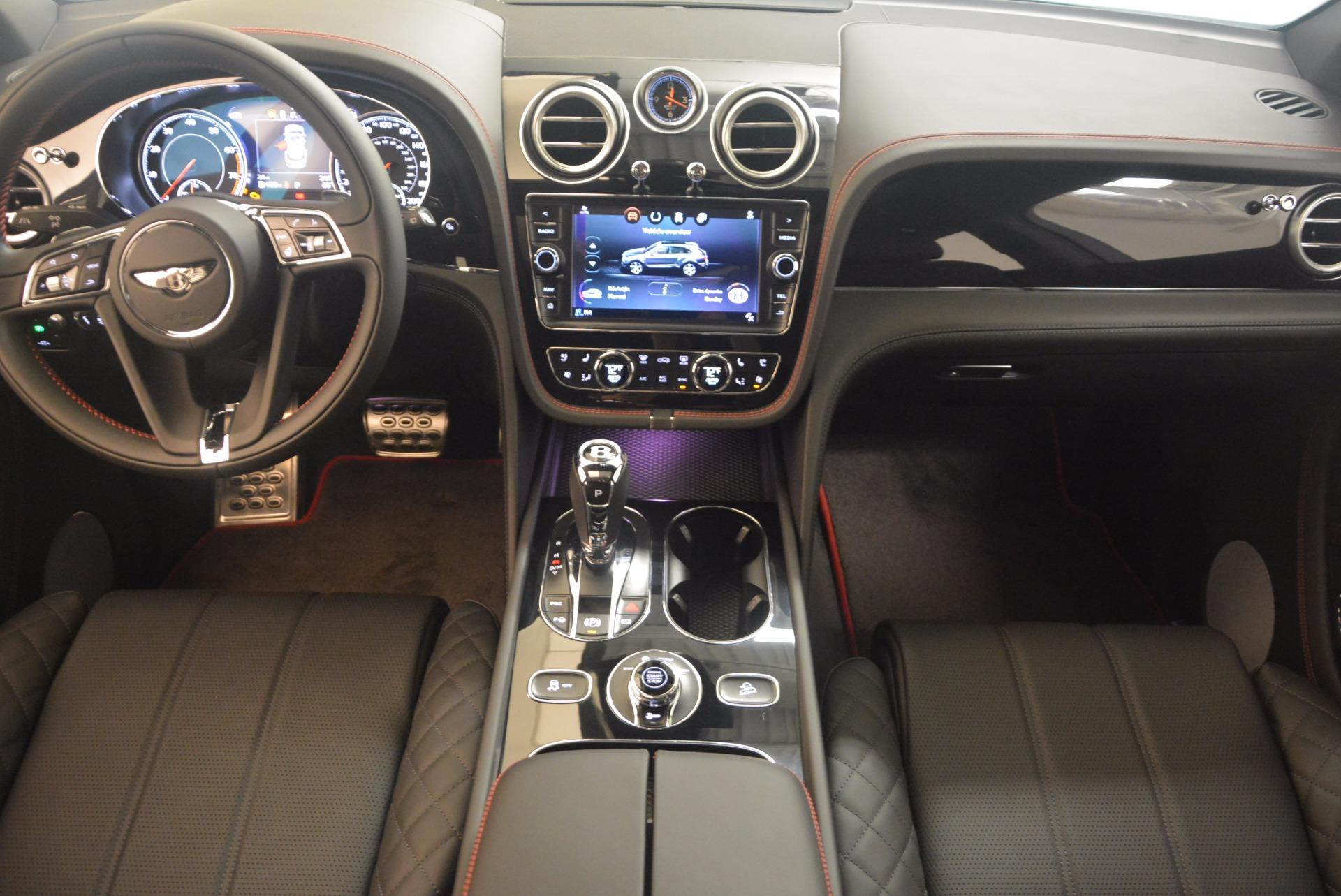 New 2018 Bentley Bentayga Black Edition For Sale In Westport, CT 1287_p36
