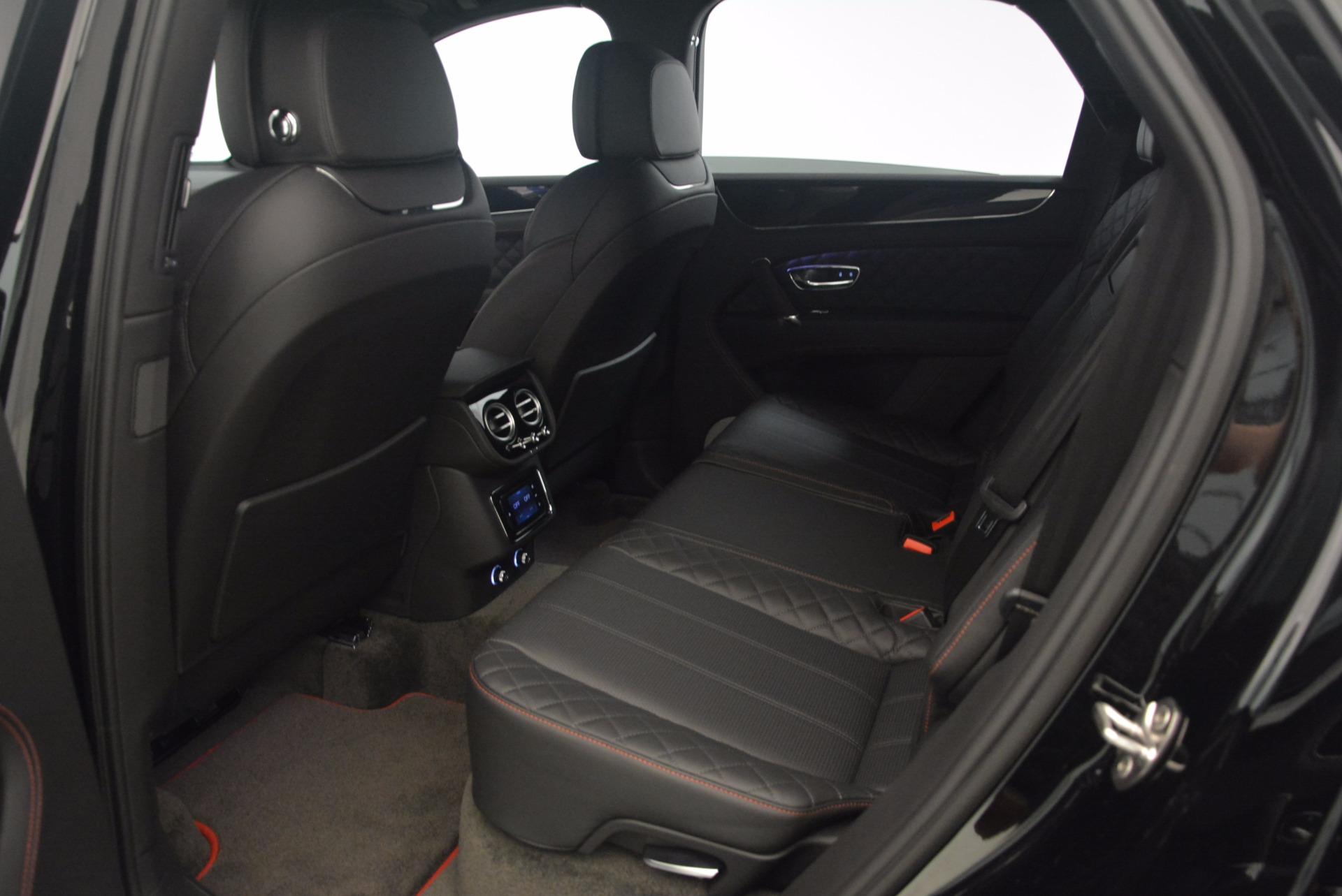 New 2018 Bentley Bentayga Black Edition For Sale In Westport, CT 1287_p41
