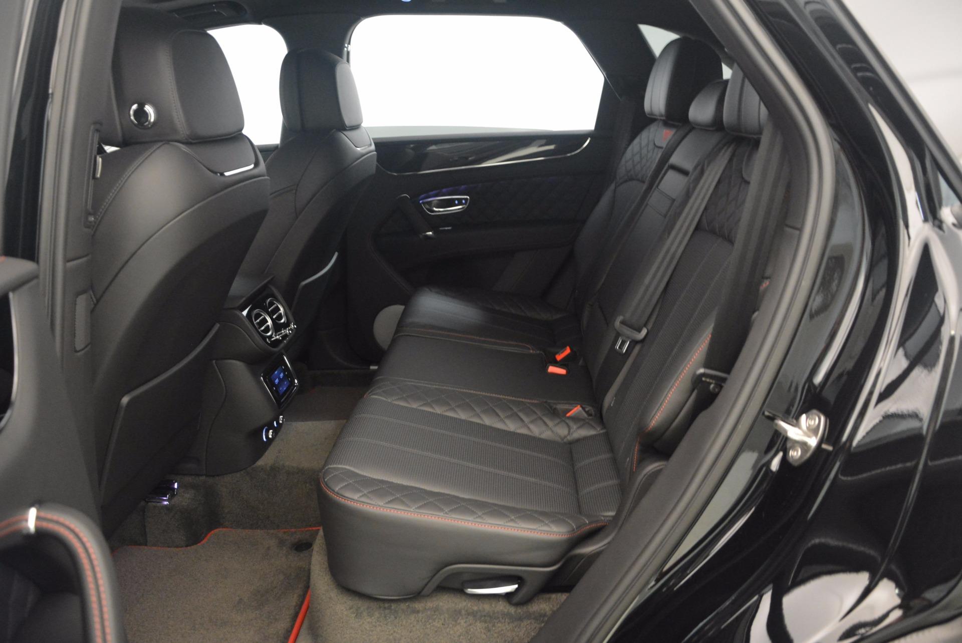 New 2018 Bentley Bentayga Black Edition For Sale In Westport, CT 1287_p42