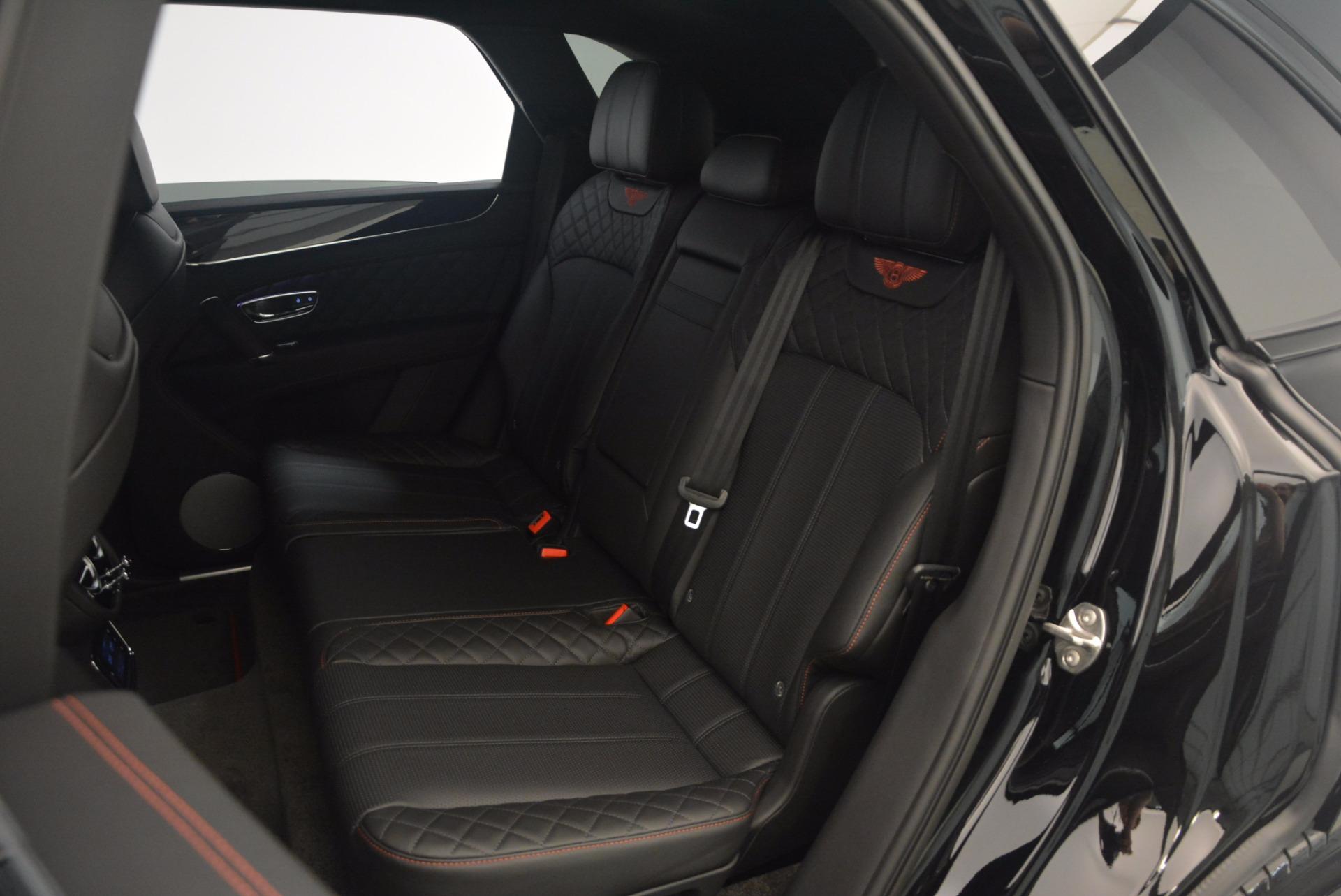 New 2018 Bentley Bentayga Black Edition For Sale In Westport, CT 1287_p43