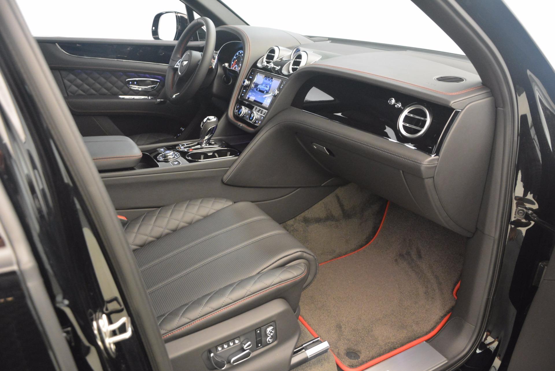 New 2018 Bentley Bentayga Black Edition For Sale In Westport, CT 1287_p44