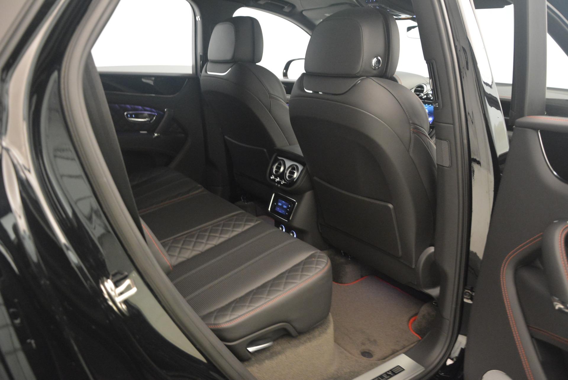 New 2018 Bentley Bentayga Black Edition For Sale In Westport, CT 1287_p47