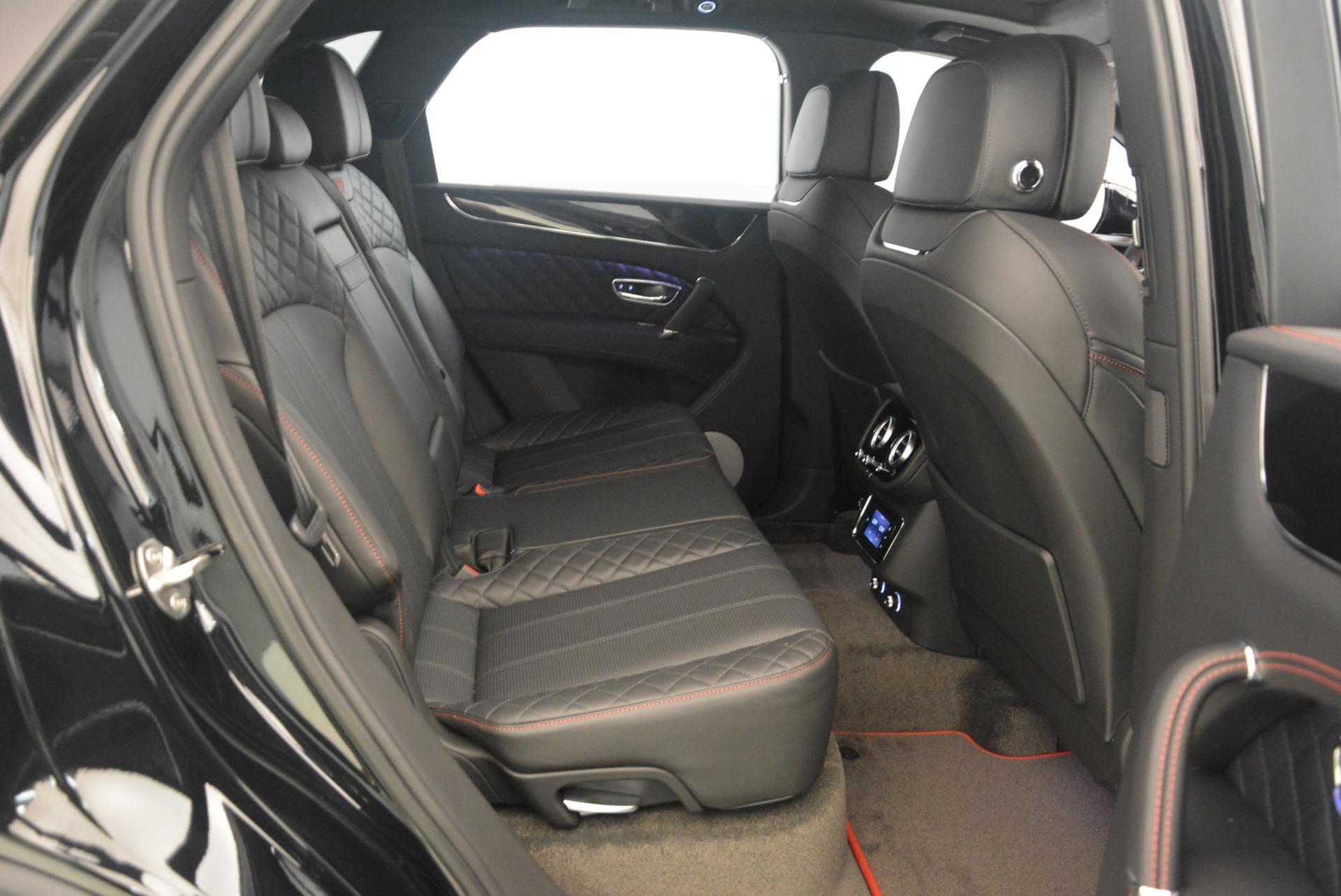 New 2018 Bentley Bentayga Black Edition For Sale In Westport, CT 1287_p48