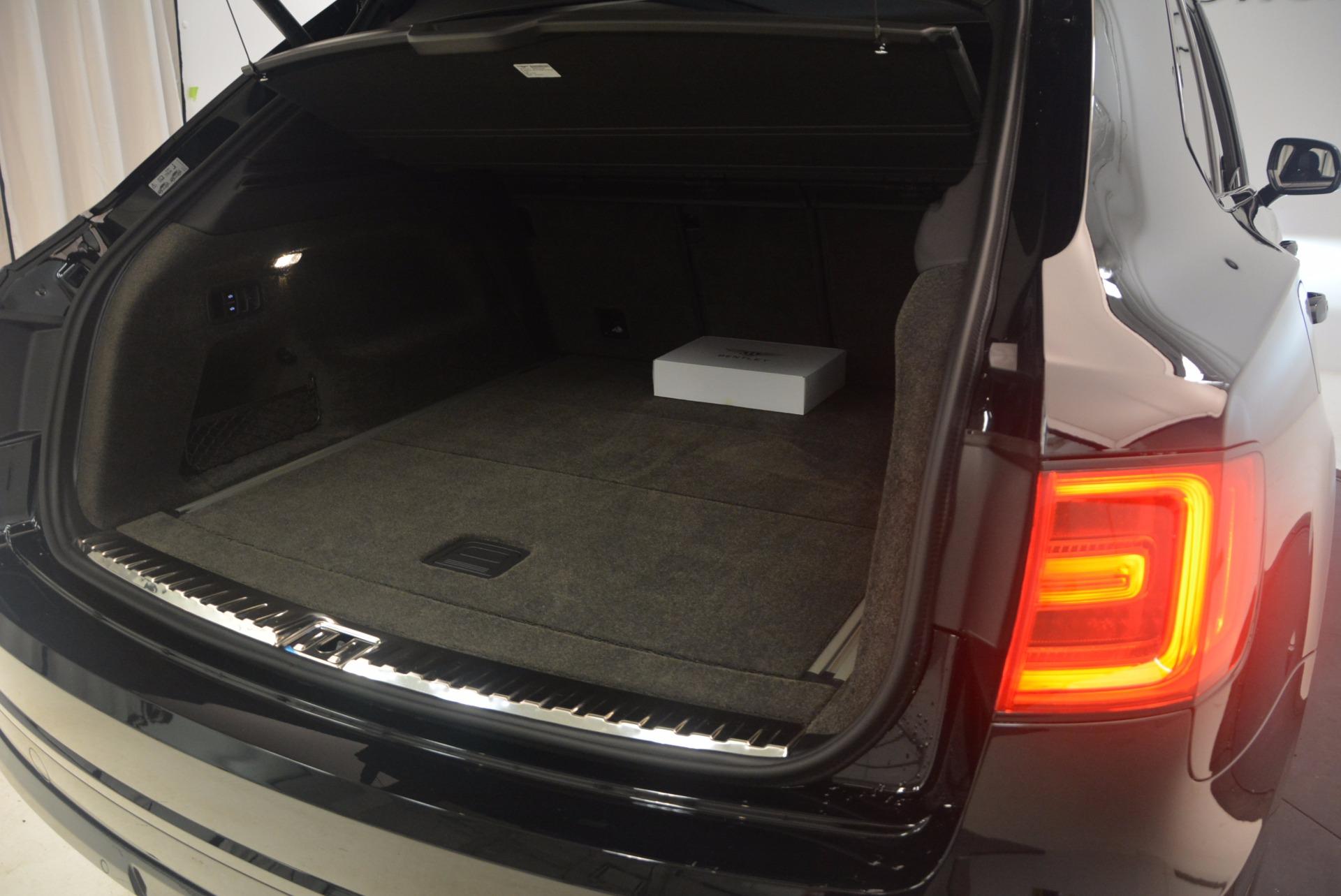 New 2018 Bentley Bentayga Black Edition For Sale In Westport, CT 1287_p52