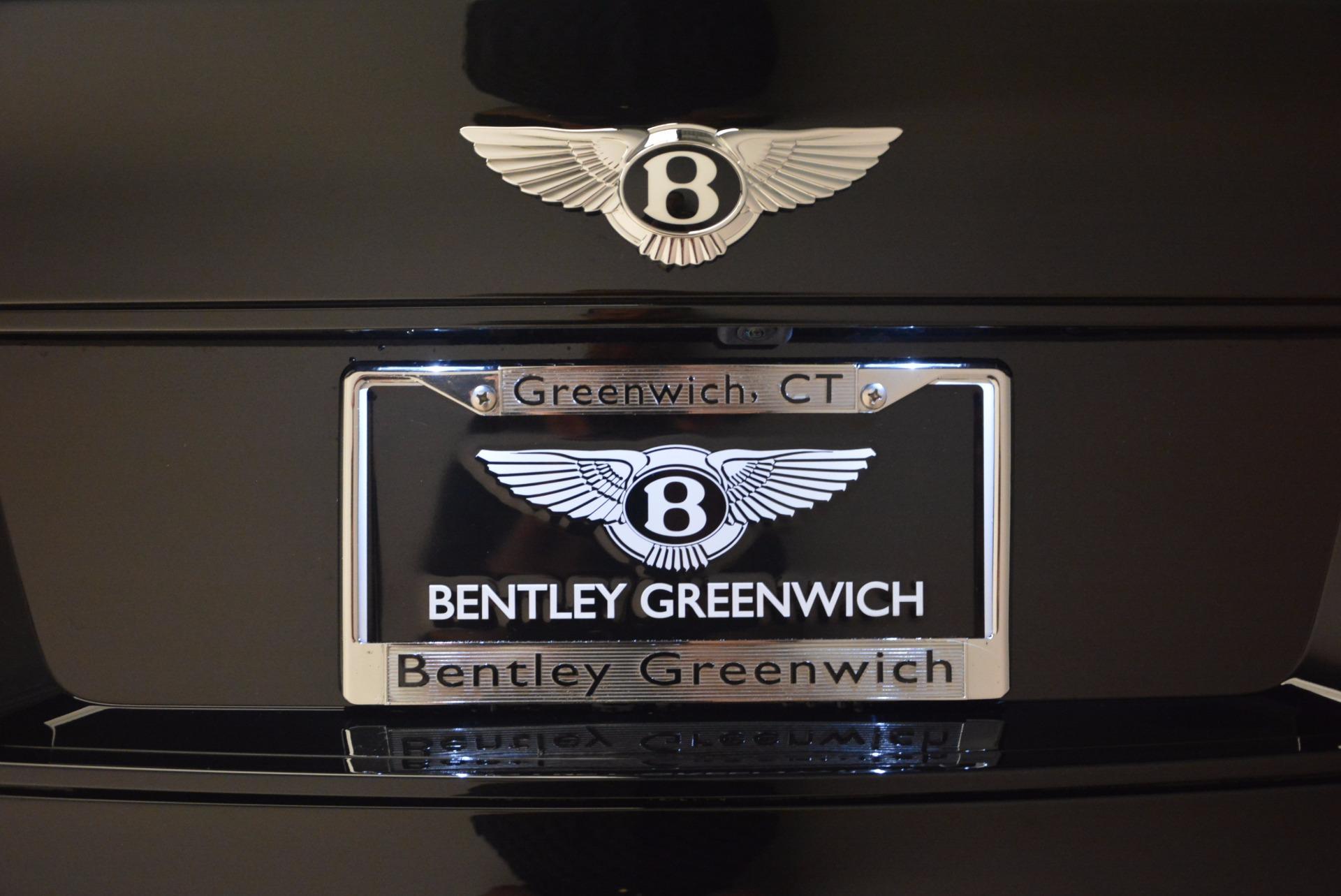 New 2018 Bentley Bentayga Black Edition For Sale In Westport, CT 1287_p53