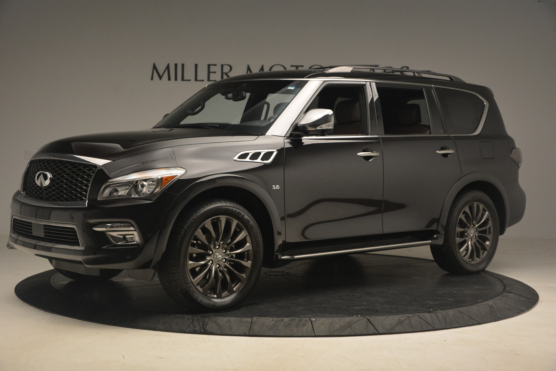 Used 2015 INFINITI QX80 Limited 4WD For Sale In Westport, CT 1289_p2