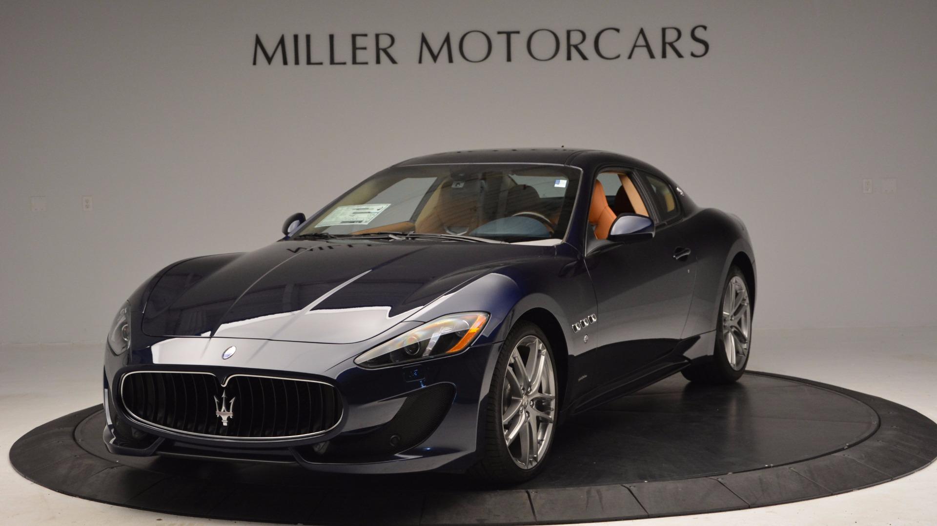 New 2017 Maserati GranTurismo Coupe Sport For Sale In Westport, CT 1295_main