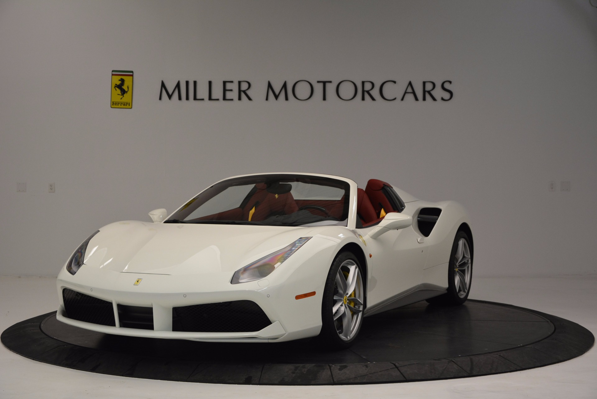 Used 2017 Ferrari 488 Spider  For Sale In Westport, CT 1296_main
