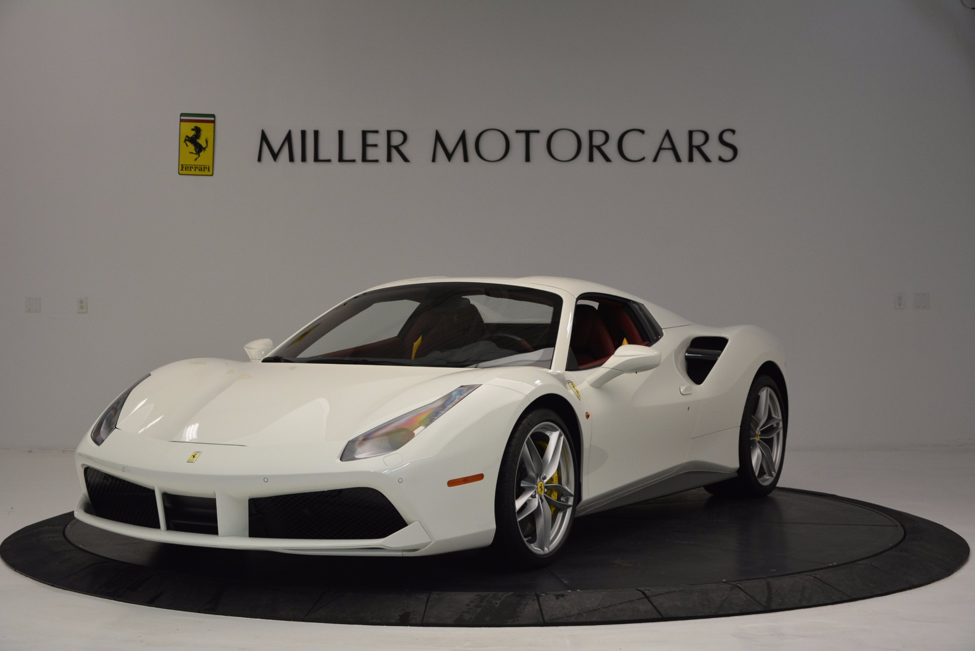 Used 2017 Ferrari 488 Spider  For Sale In Westport, CT 1296_p13