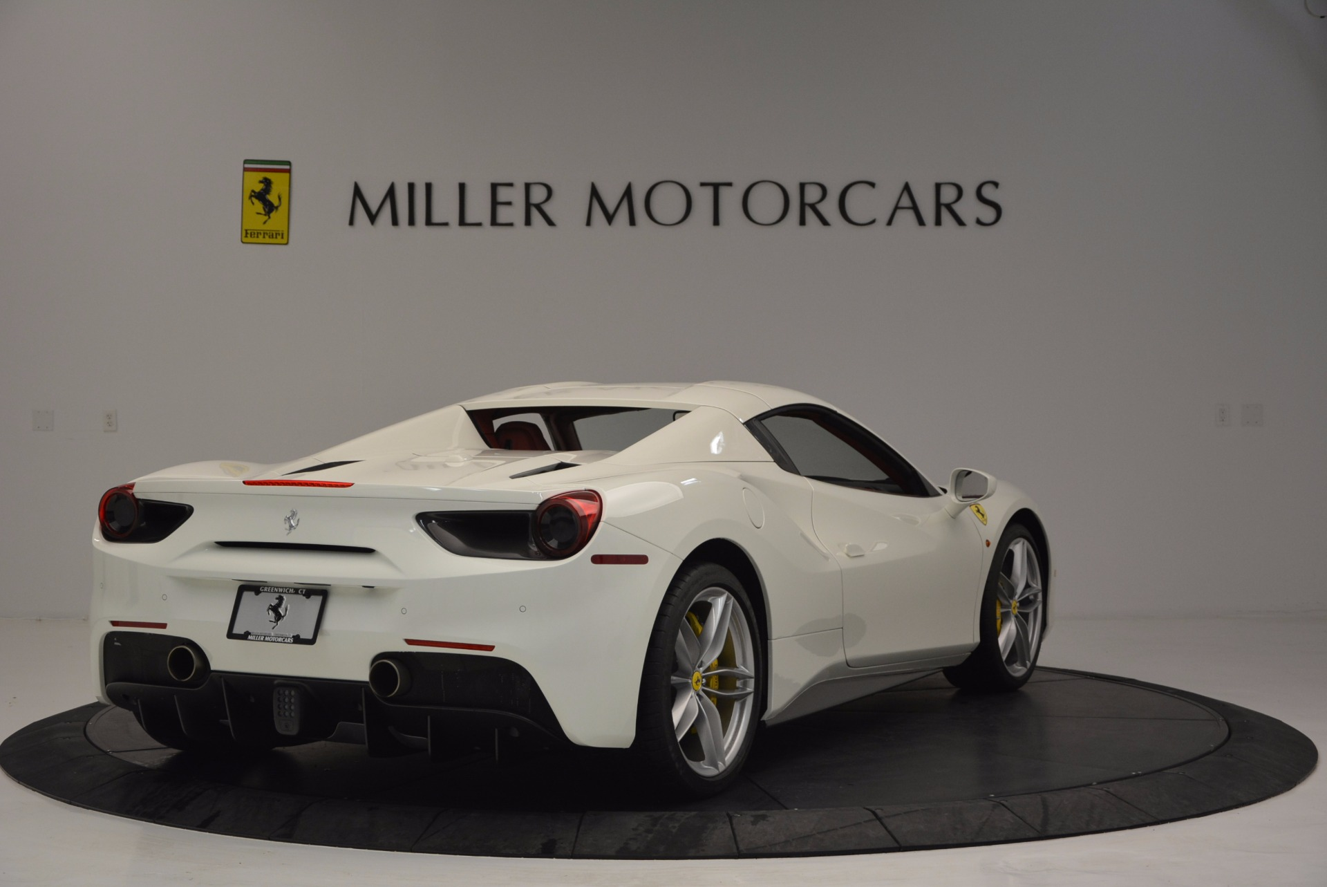 Used 2017 Ferrari 488 Spider  For Sale In Westport, CT 1296_p19